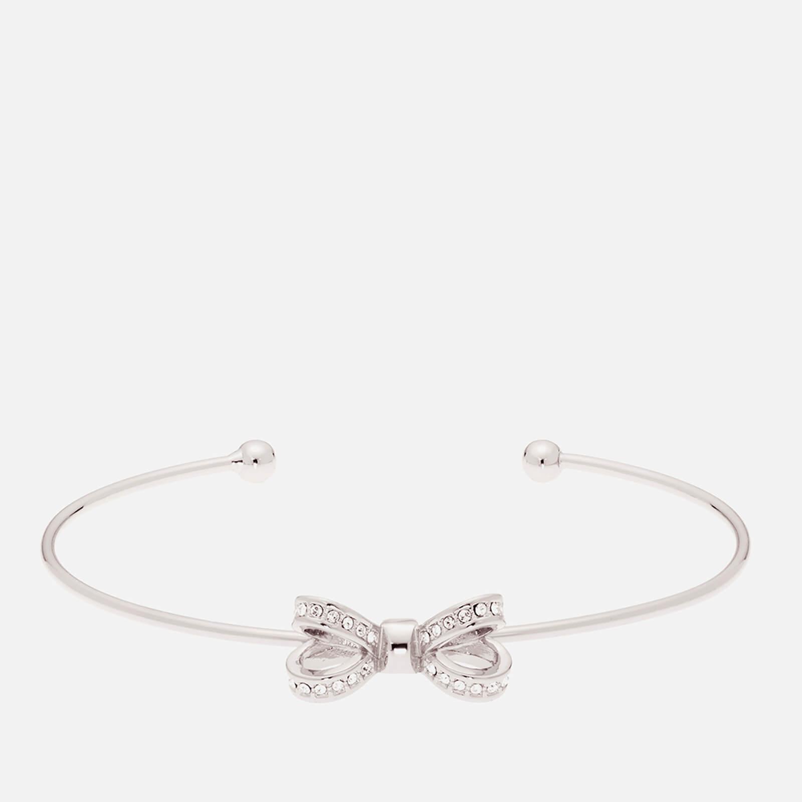 943461c7b Lyst - Ted Baker Olexii  Mini Opulent Pavé Bow Ultra Fine Cuff
