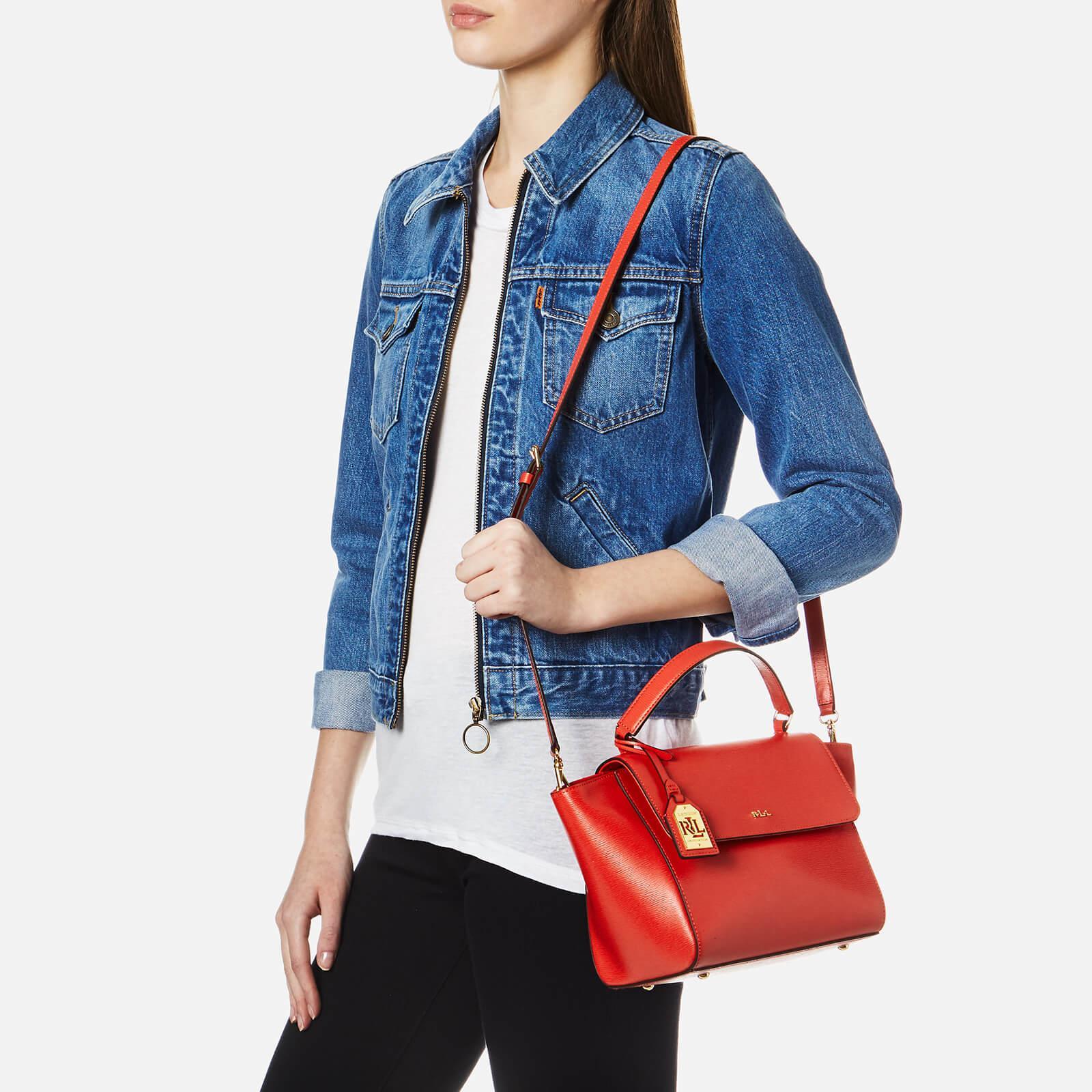 bcf5e675f Ralph Lauren Barclay Cross Body Bag in Red - Lyst