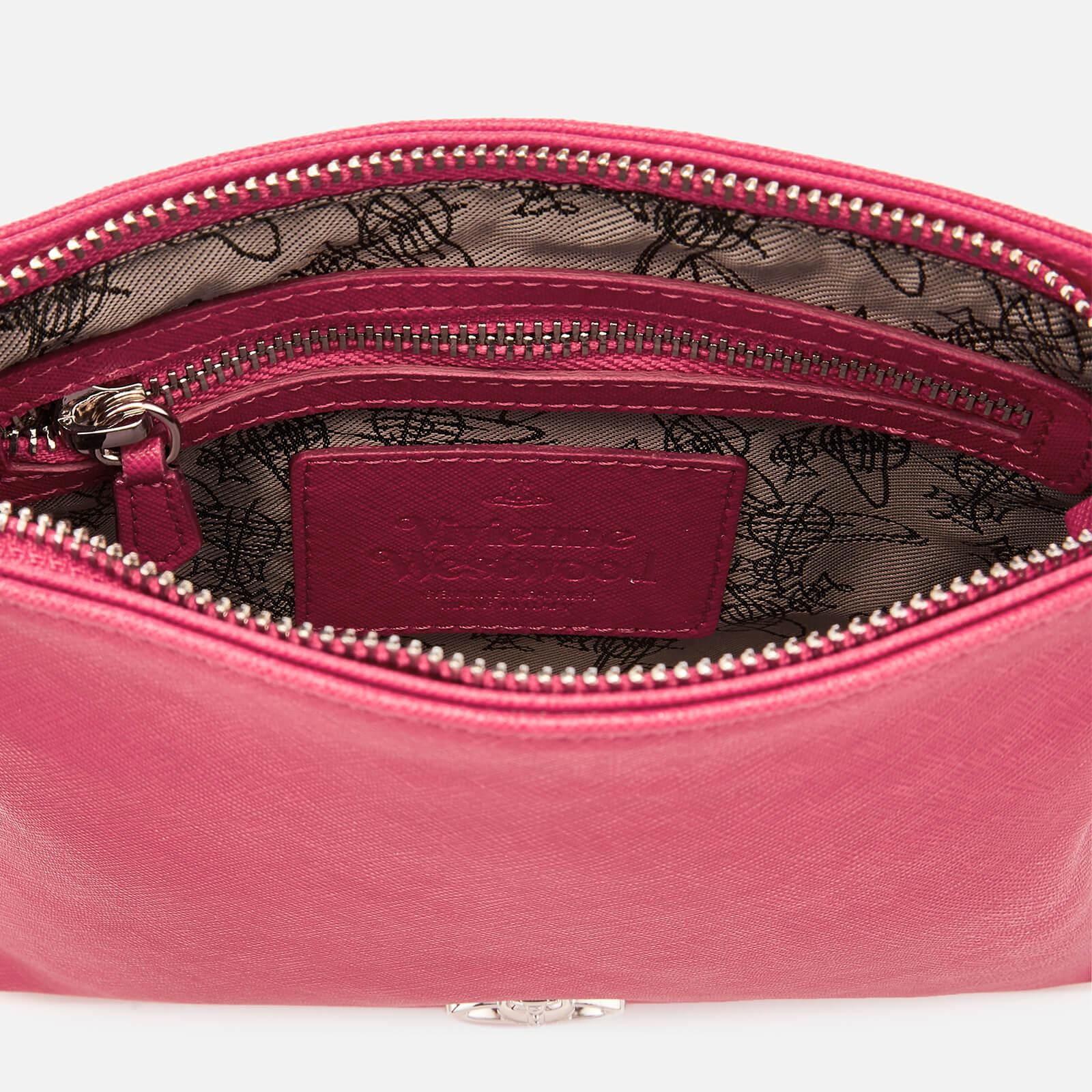 dac56d1e7e2 Vivienne Westwood - Pink Victoria Square Cross Body Bag - Lyst. View  fullscreen