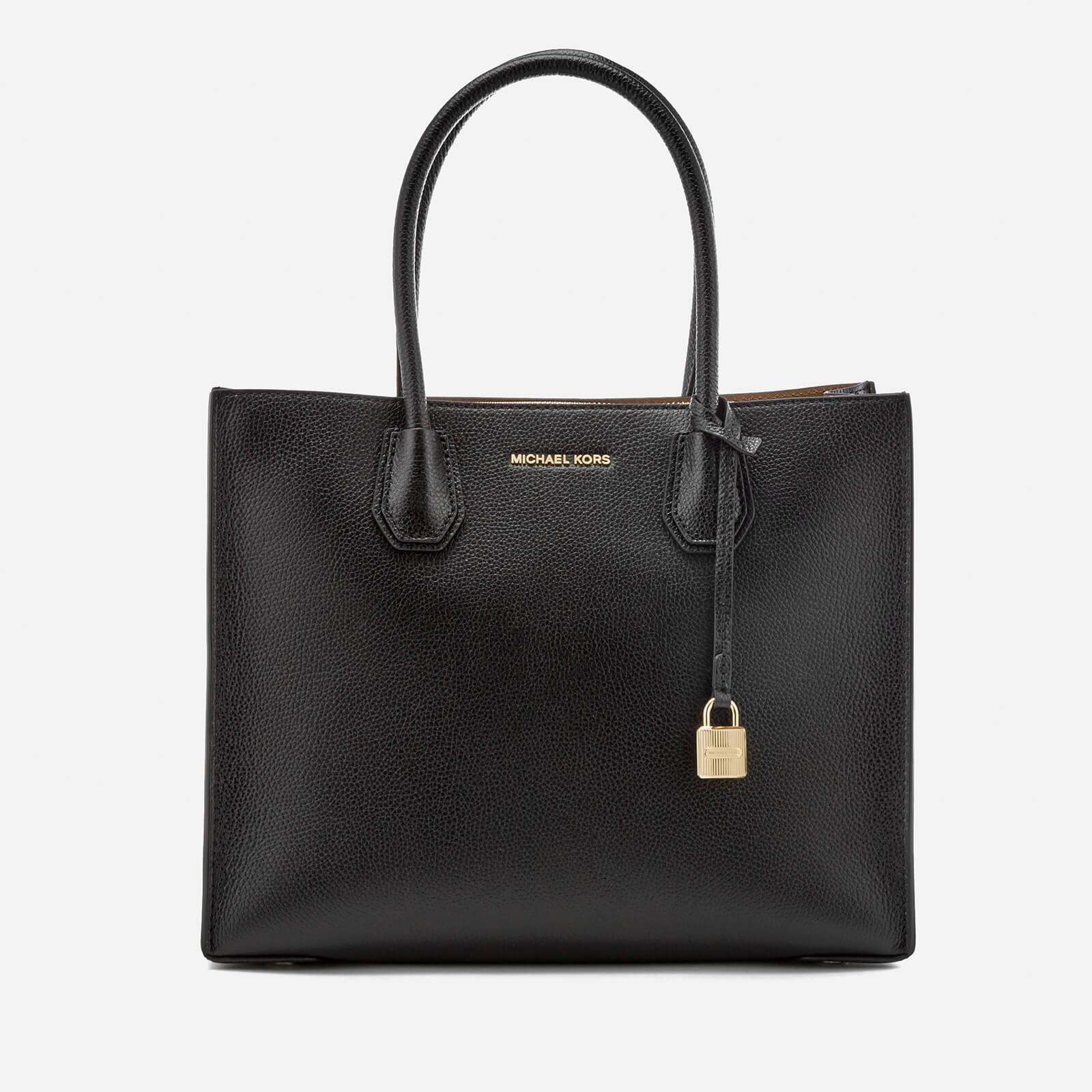 MICHAEL Michael Kors Leather Mercer Large Conversational Tote Bag