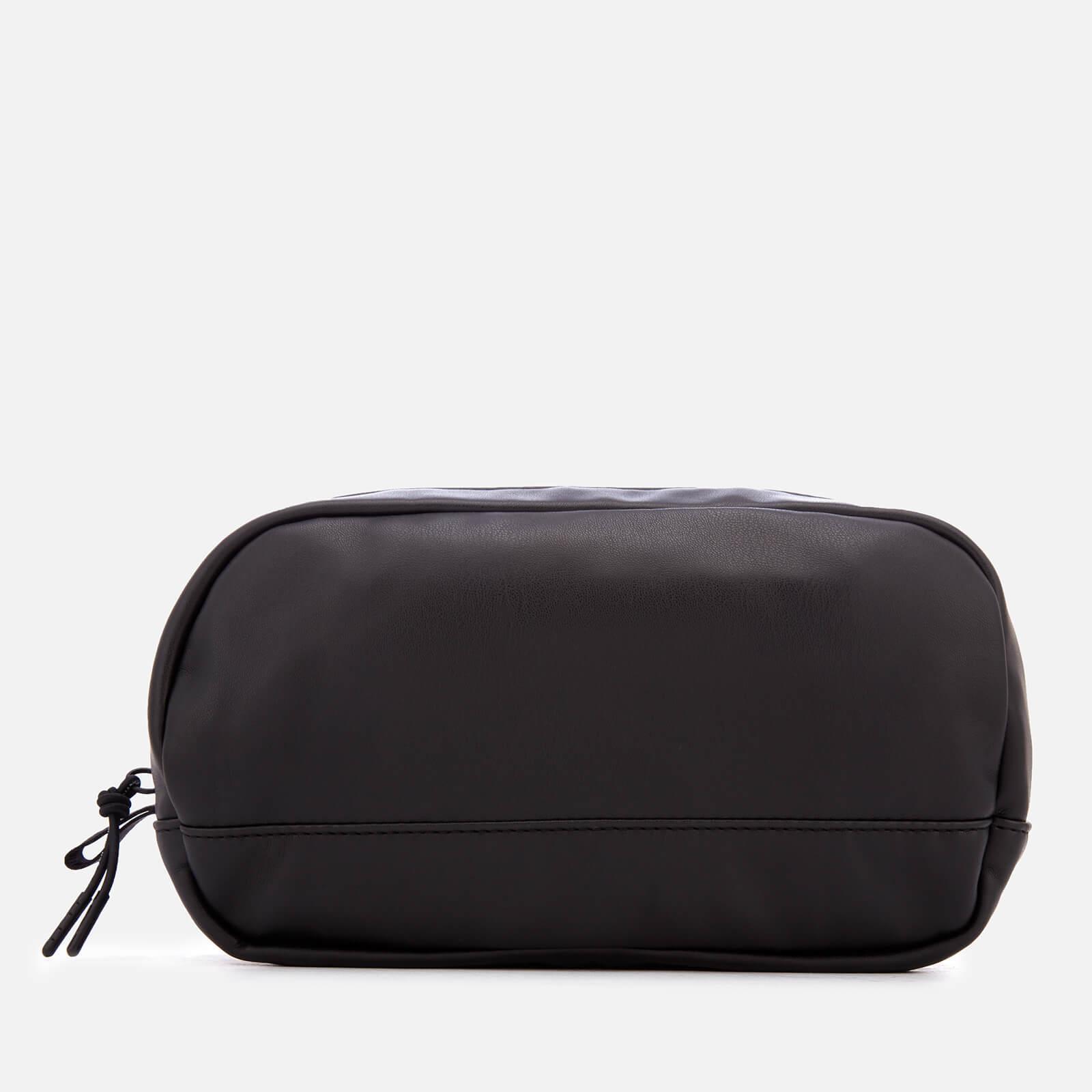 e3f16ea6c14b Armani Exchange - Black Pu Wash Bag for Men - Lyst. View fullscreen
