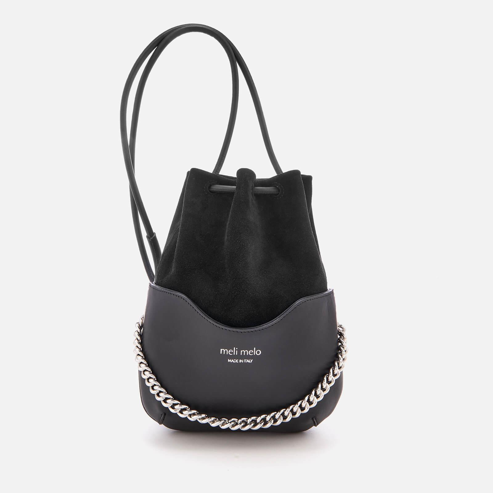 lyst meli melo hetty chain handle bag in black. Black Bedroom Furniture Sets. Home Design Ideas