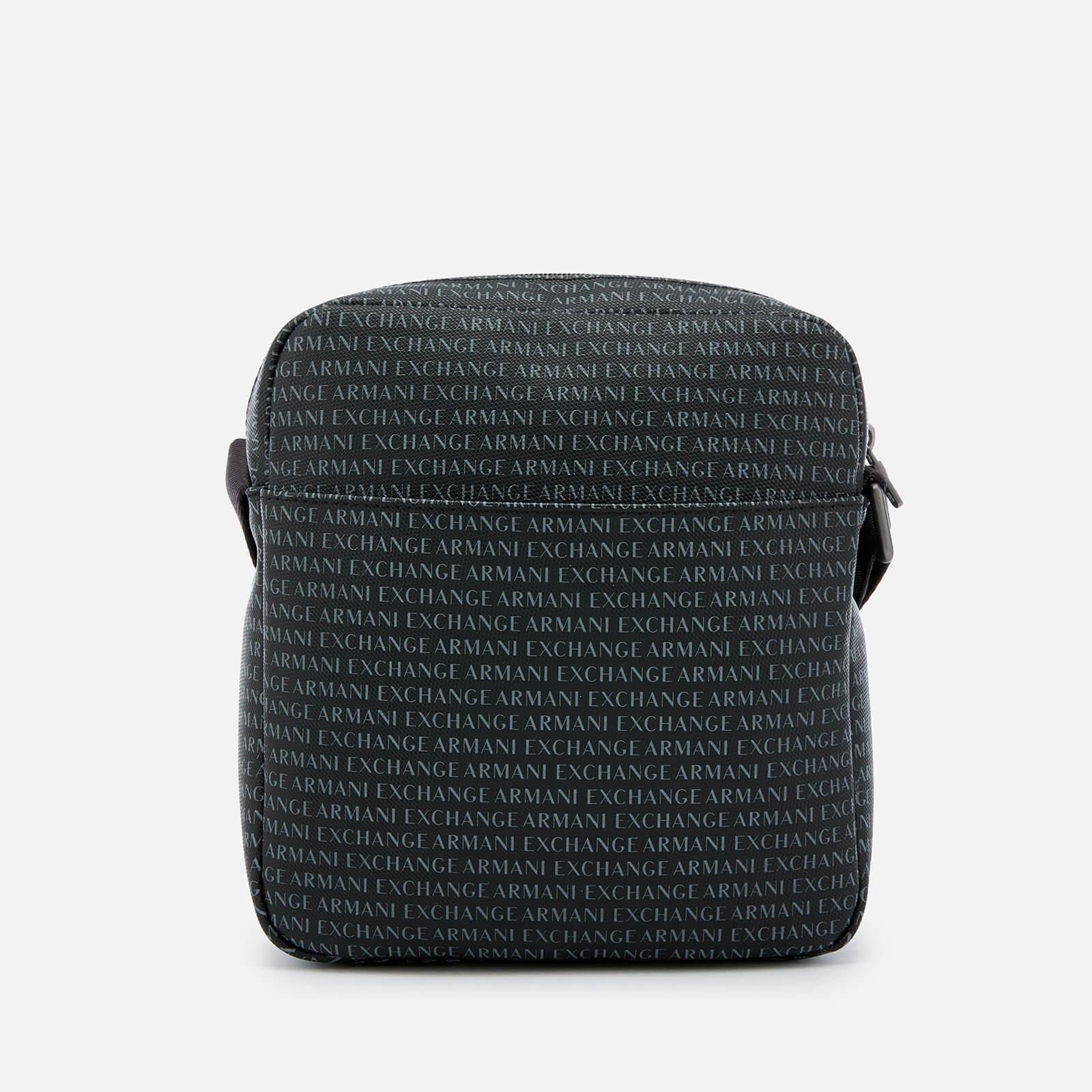 cd77facce689 Armani Exchange - Black Reporter Bag for Men - Lyst. View fullscreen