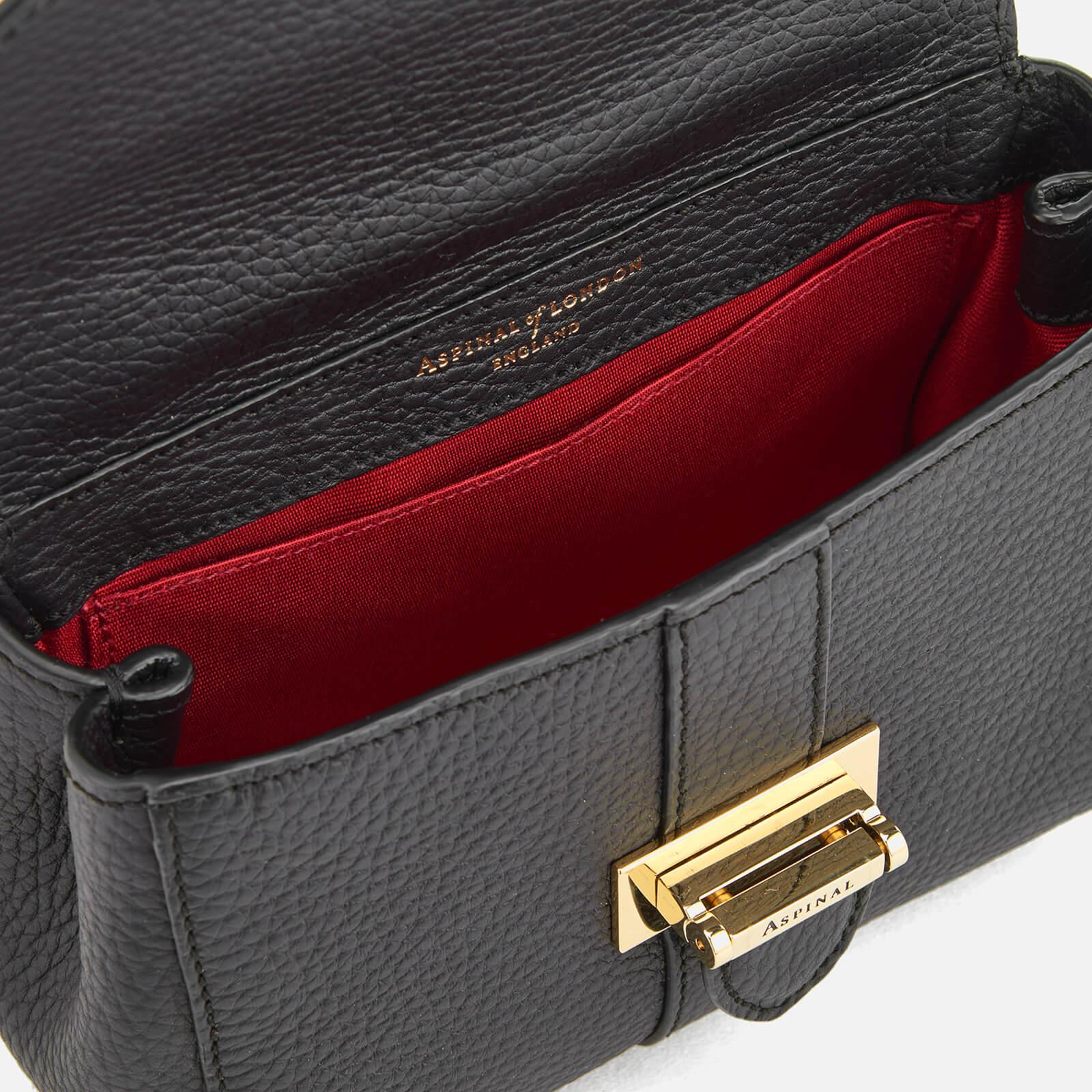 Aspinal of London Leather Lottie Micro Cross Body Bag