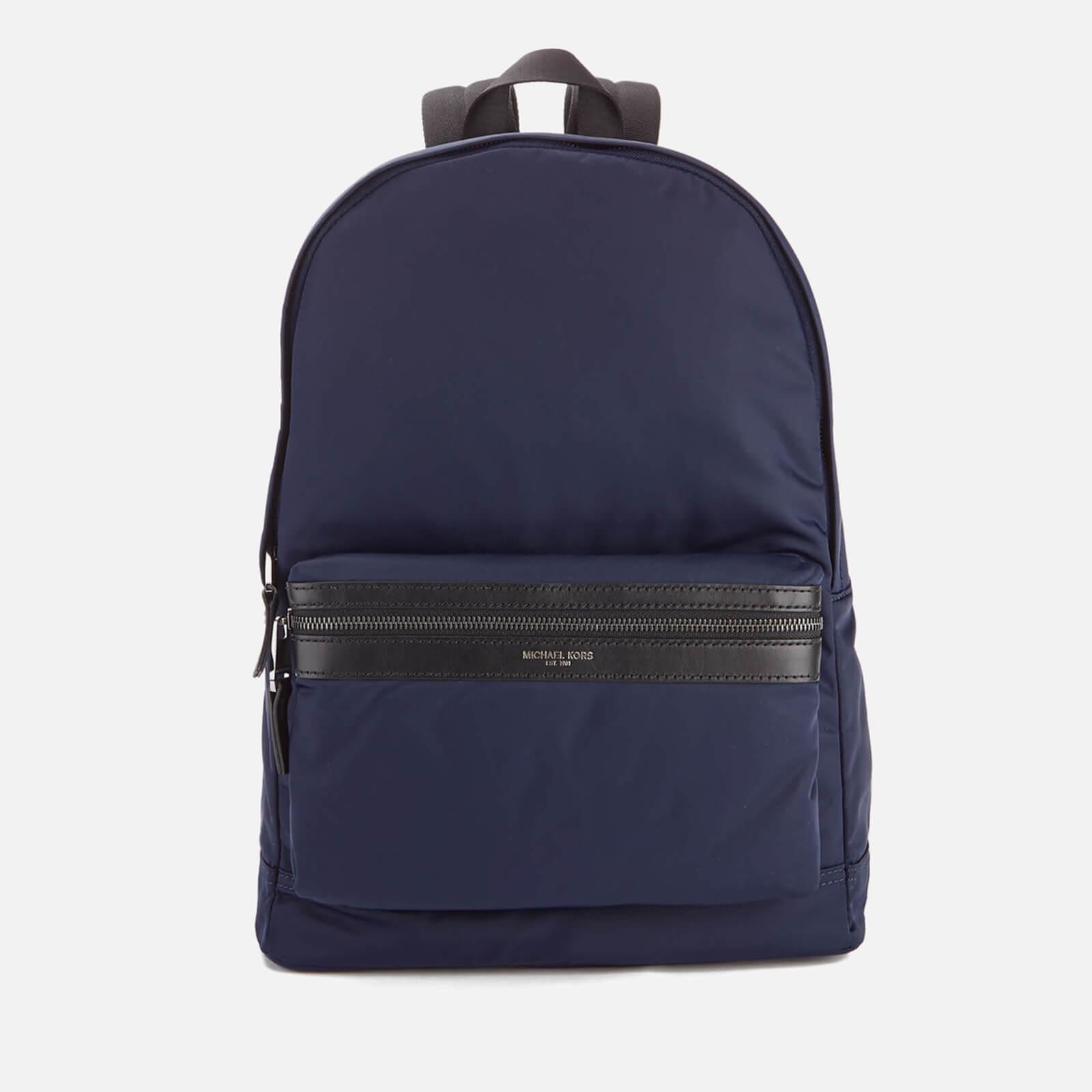 e4c1407ceb Lyst - Michael Kors Men s Kent Nylon Backpack in Blue for Men