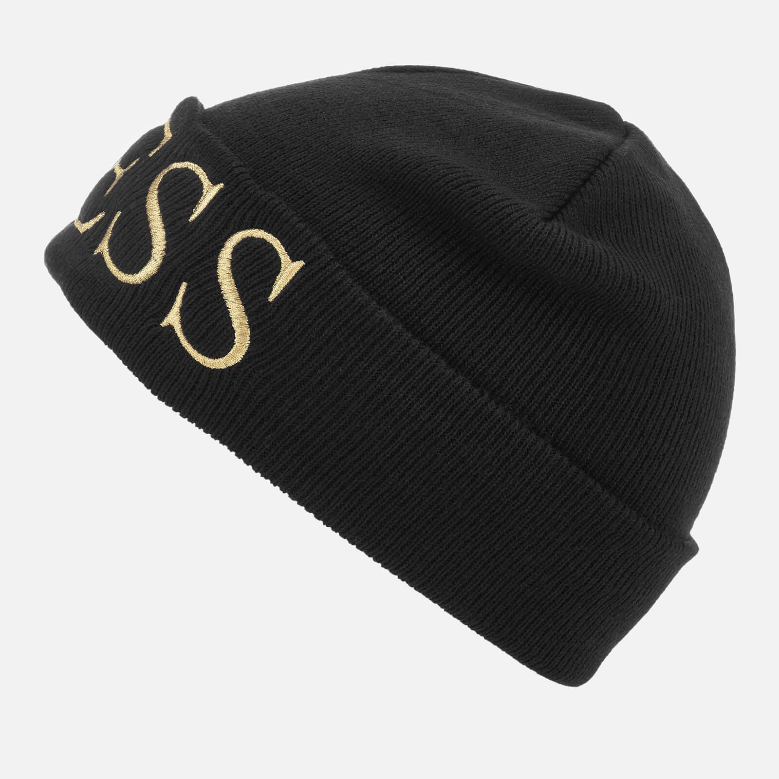 22d085e53 Guess Black Logo Beanie Hat