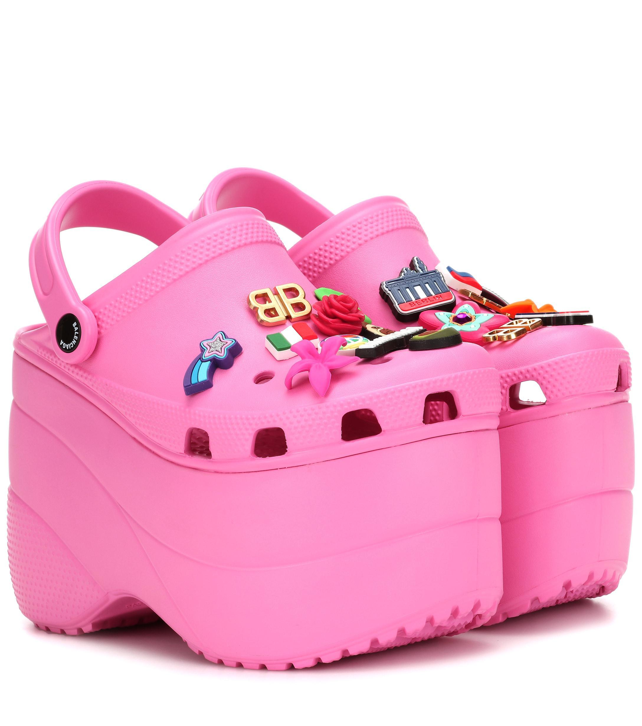 585f36888f95a3 balenciaga platform crocs price