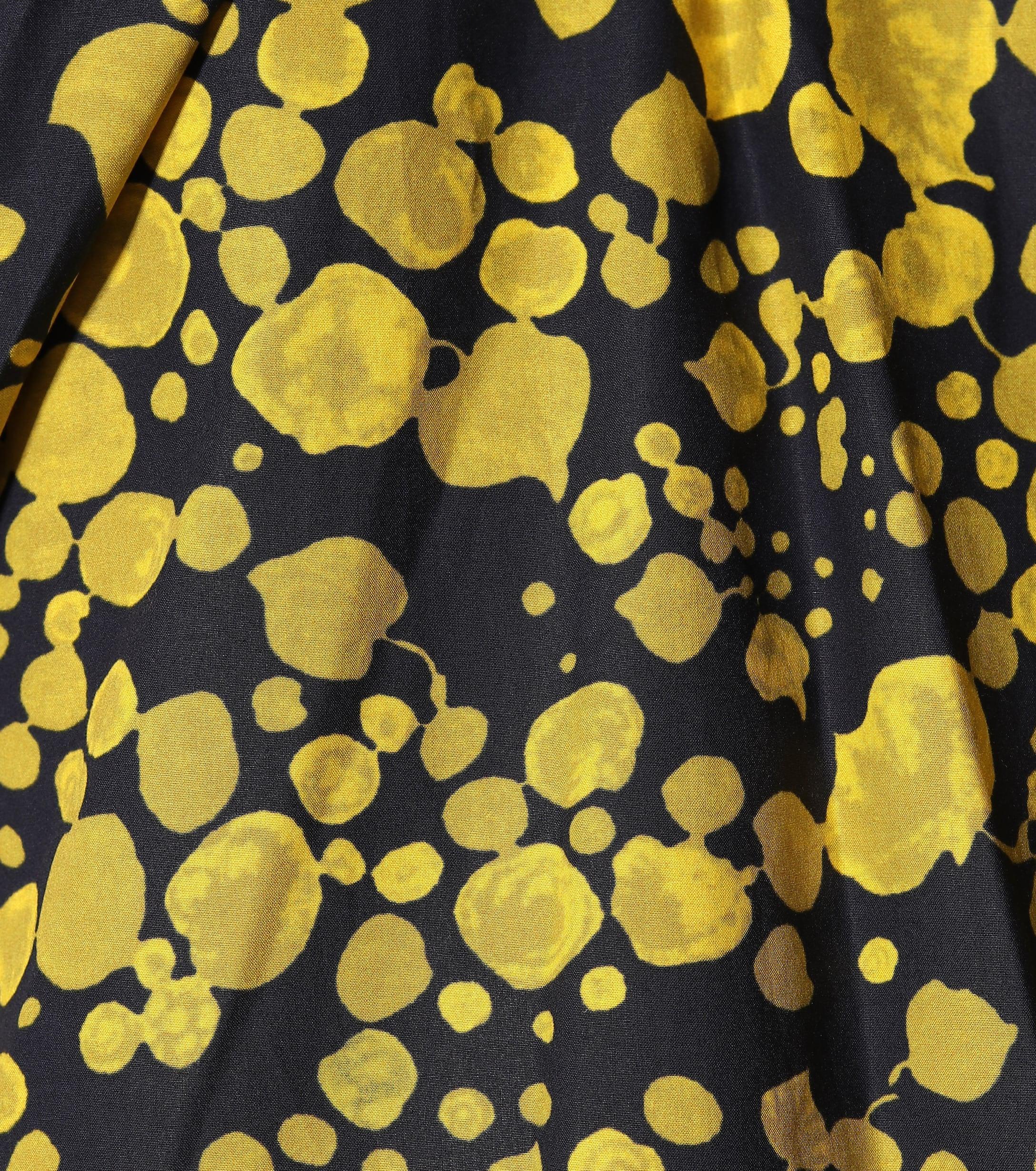 Robe en popeline de coton Coton Victoria, Victoria Beckham en coloris Jaune