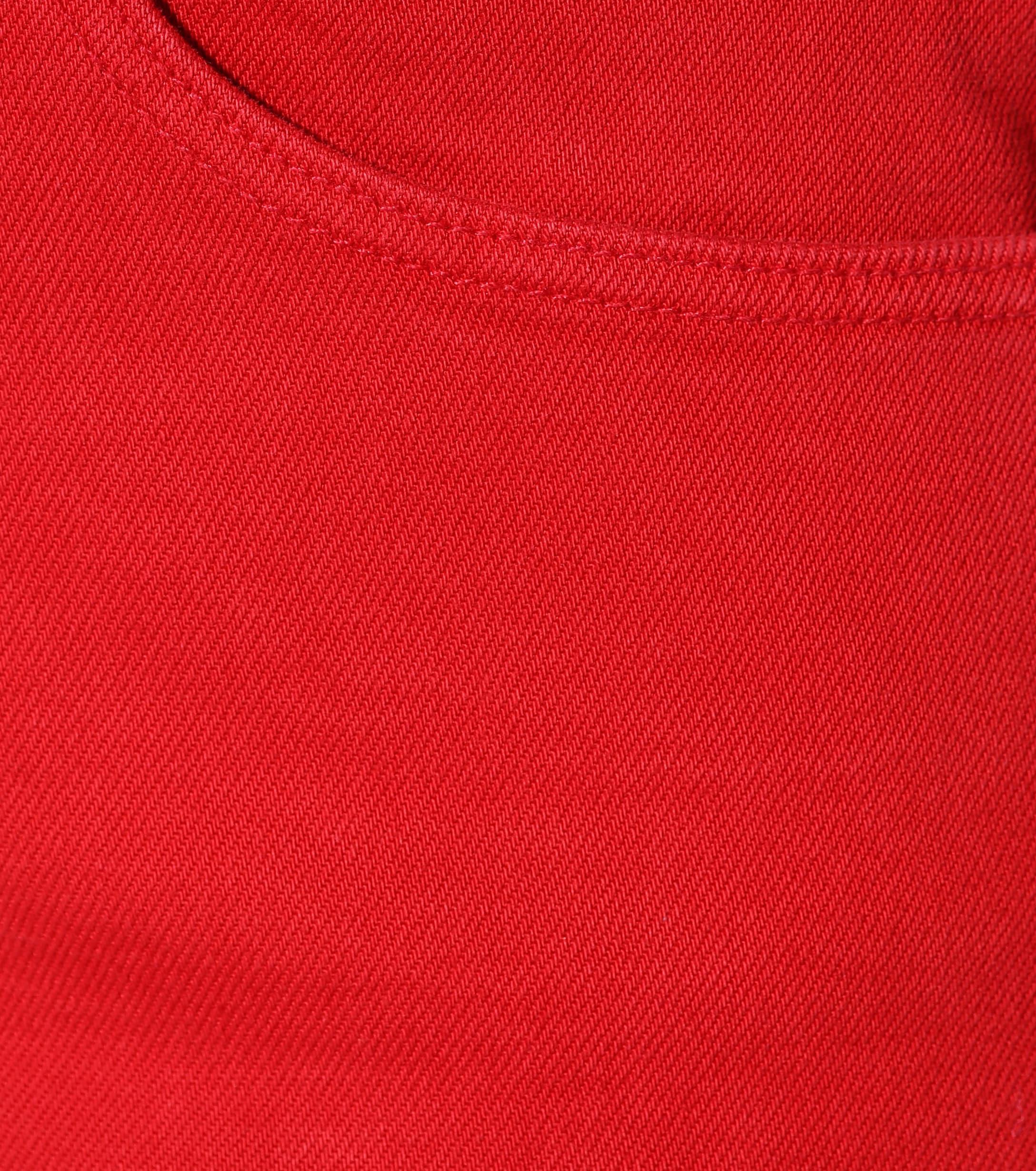 Jeans cropped pierna ancha W4 Shelter 3x1 de Denim de color Rojo