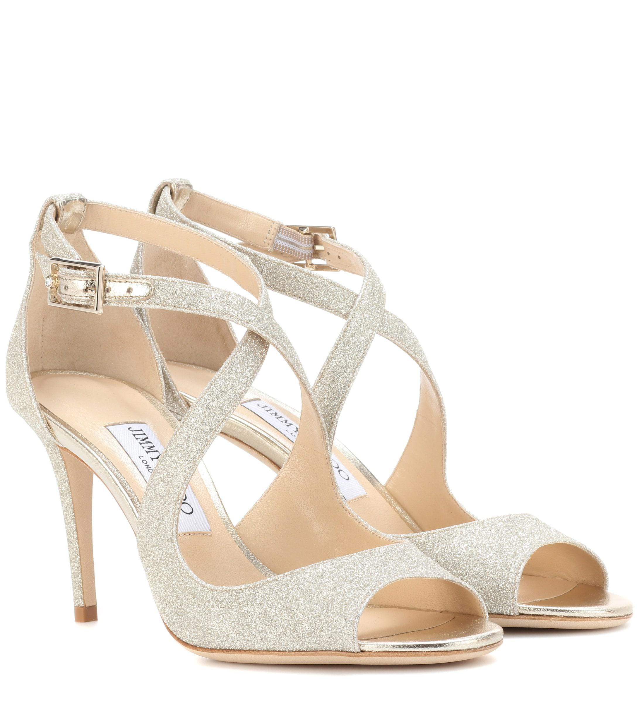 90017c896c2b Jimmy Choo. Women s Emily 85 Glitter Sandals