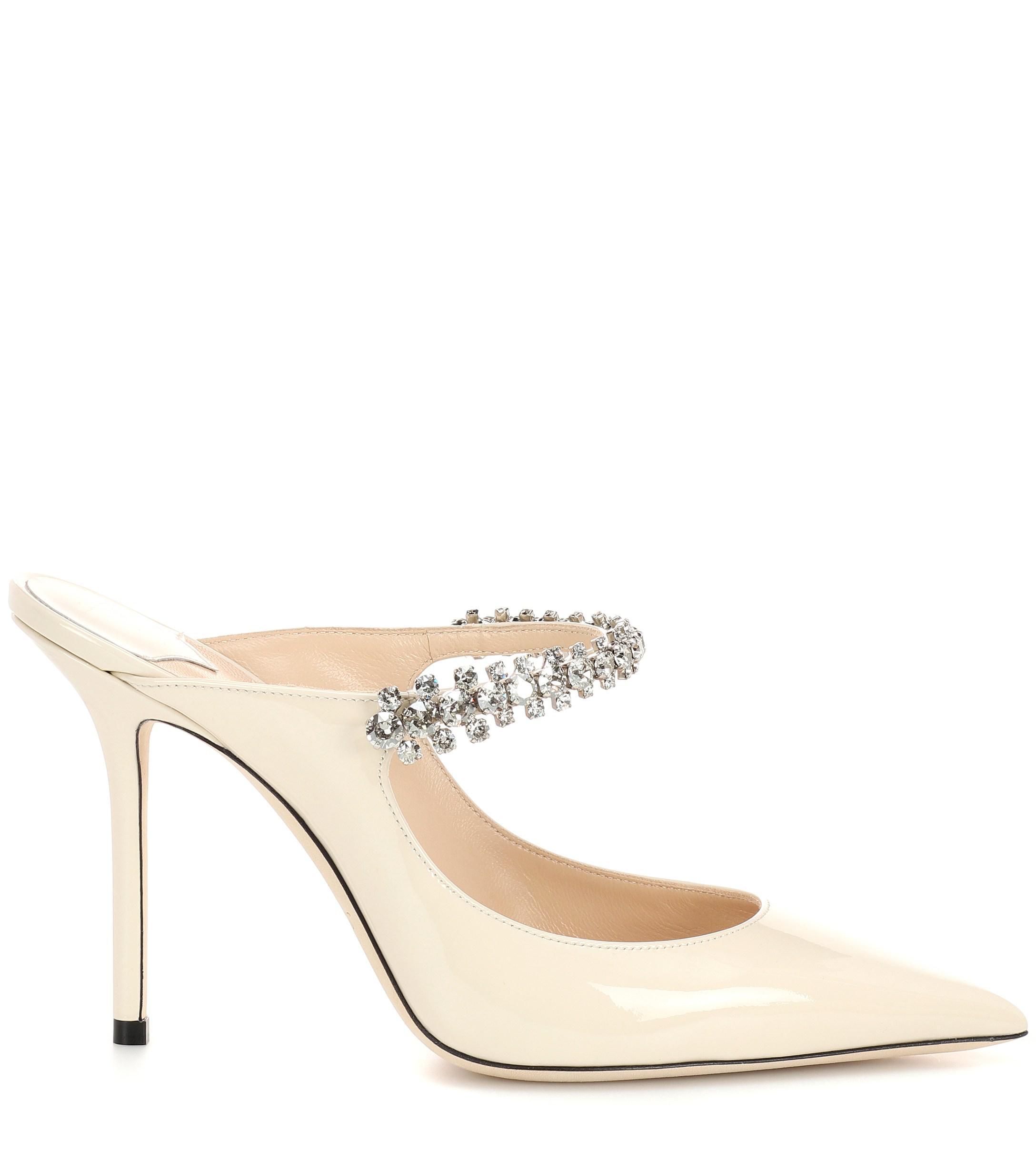 Zapatos De Tacón Mujer Jimmy Choo de Cuero de color Blanco
