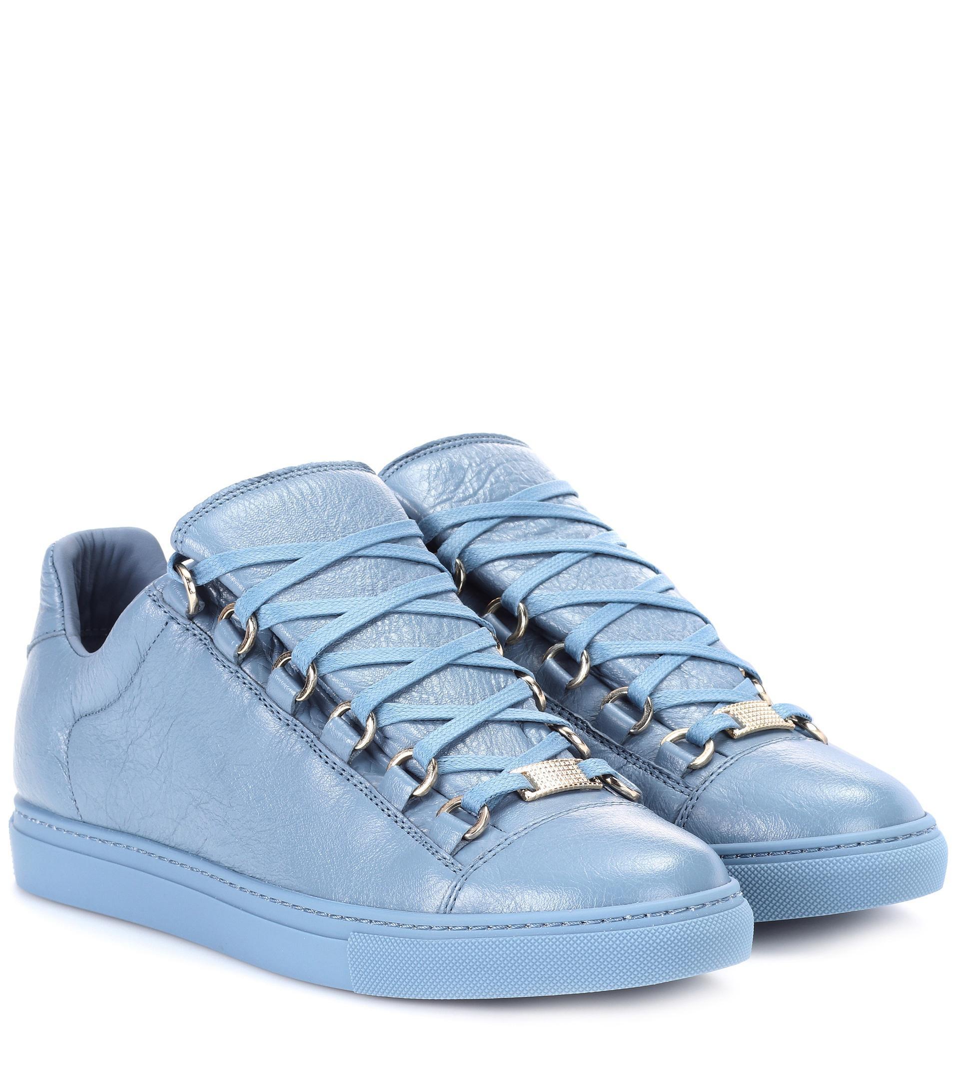 Velvet Shoes Blue