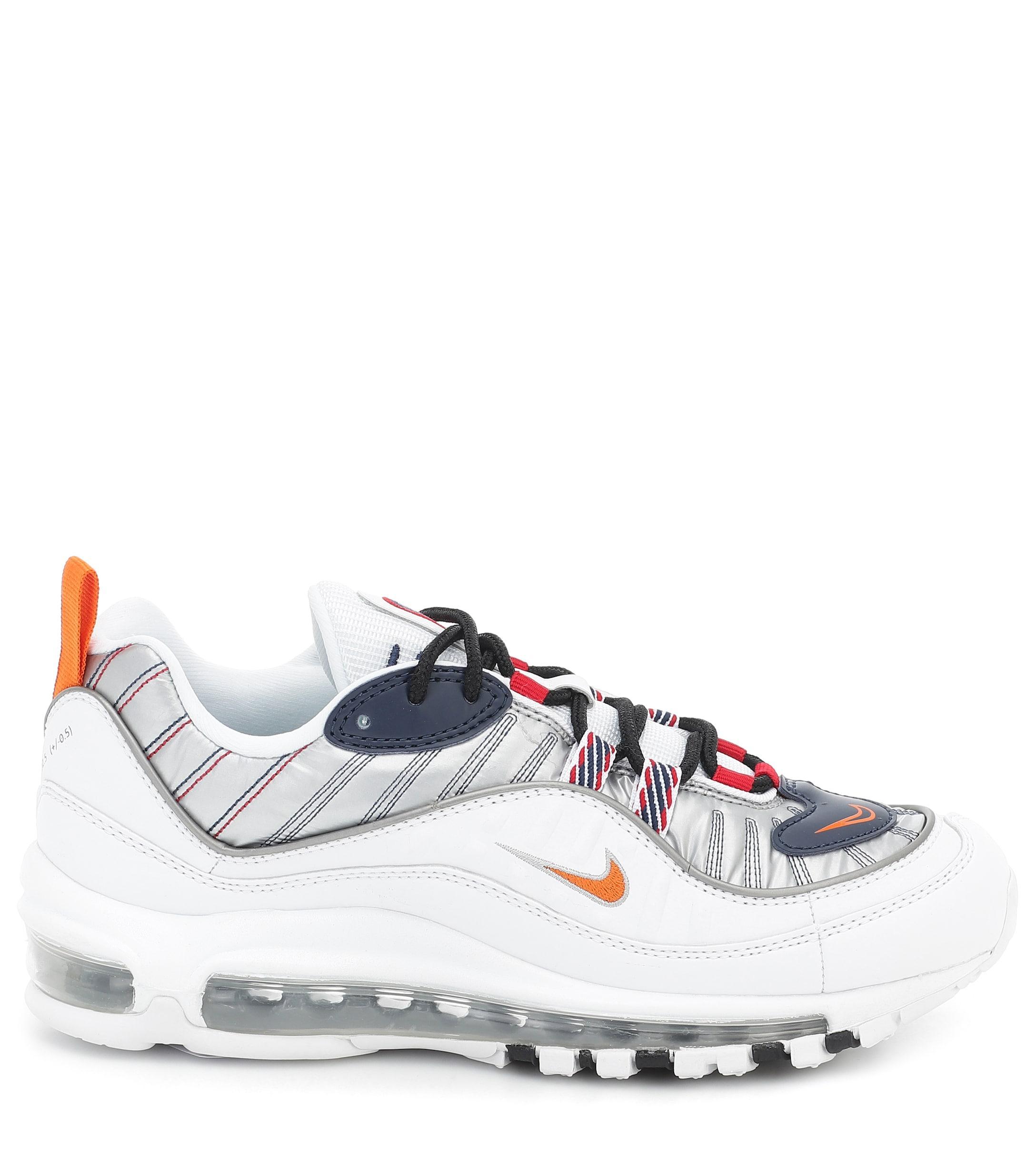 Zapatillas Air Max 98 de piel Nike de color Blanco