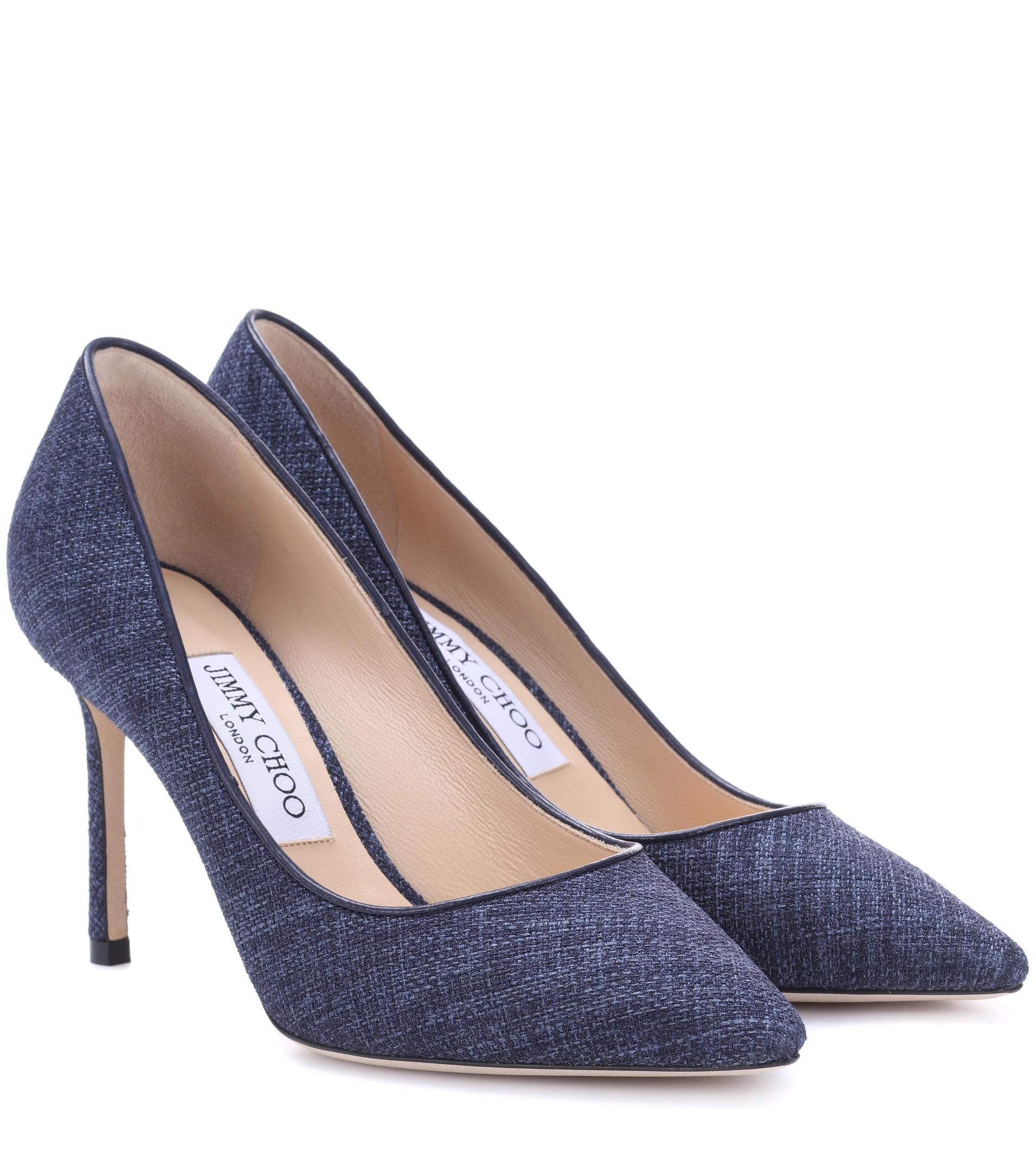 Romy 85 tweed pumps Jimmy Choo London exMaBQ9