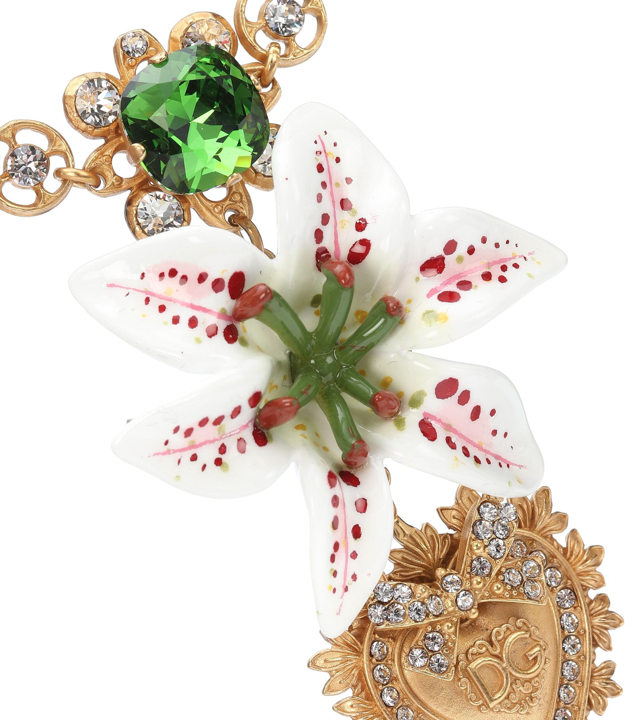 Collier à ornements Dolce & Gabbana en coloris Métallisé yA0r