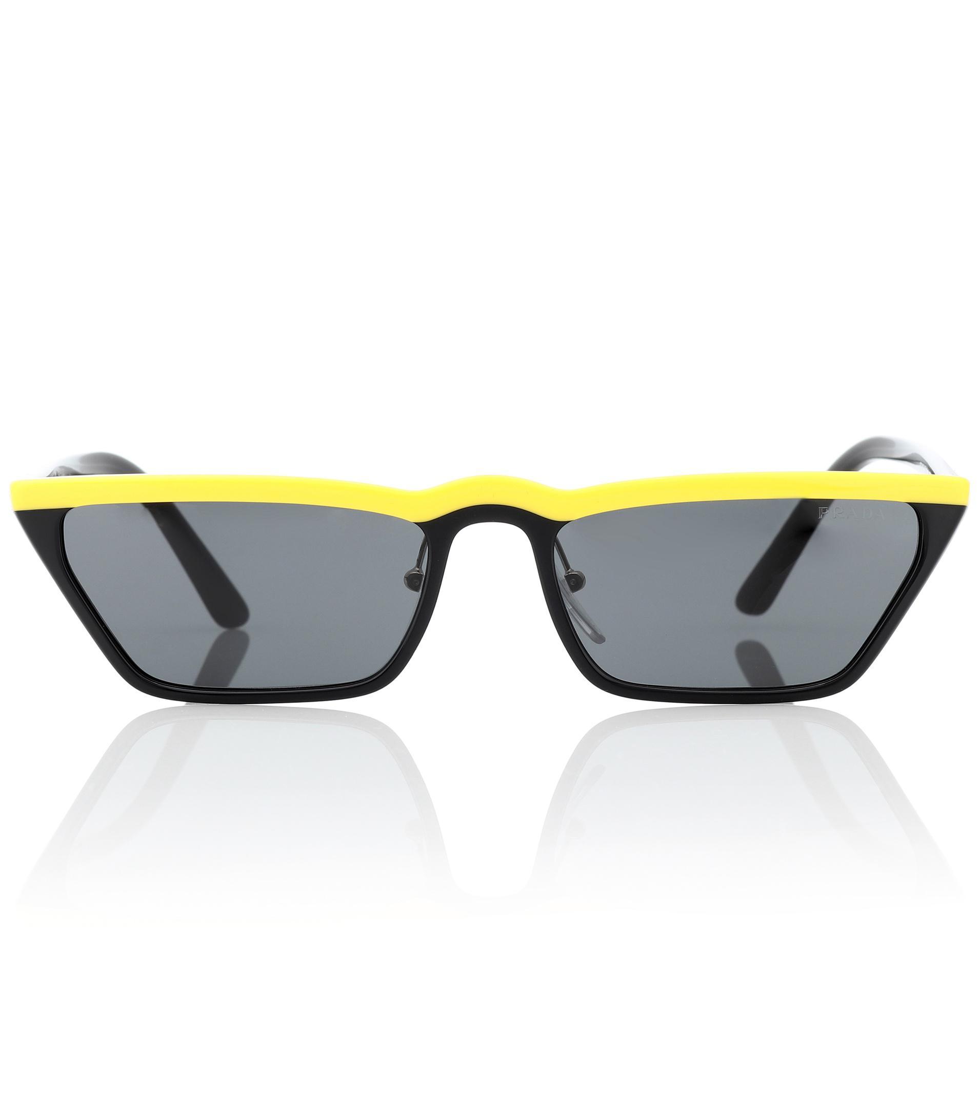 6f2202a207 Prada - Black Gafas de sol Ultravox - Lyst. Ver en pantalla completa