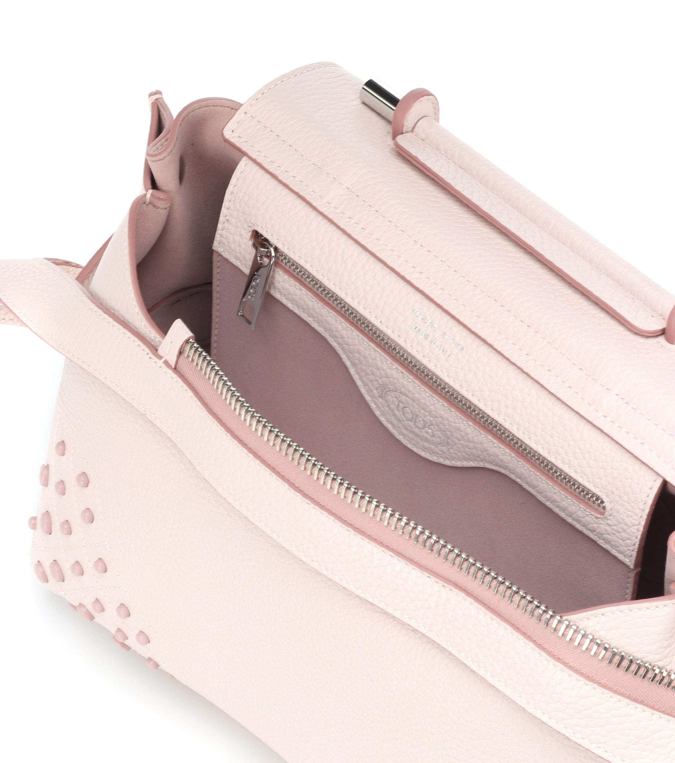 ce72e942e7b ... Wave Mini Leather Shoulder Bag - Lyst. View fullscreen