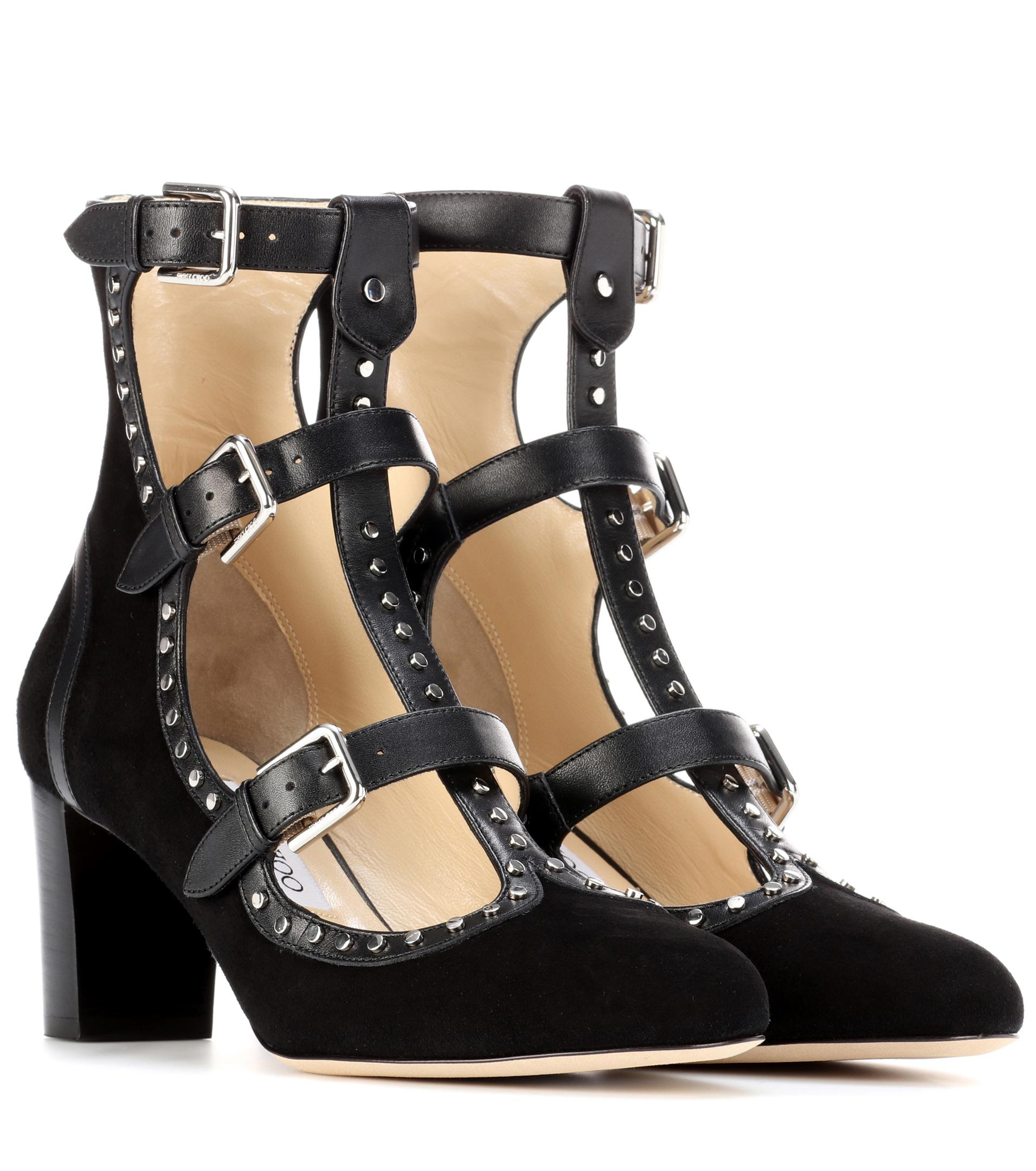 Jimmy choo Hartley 65 suede ankle boots