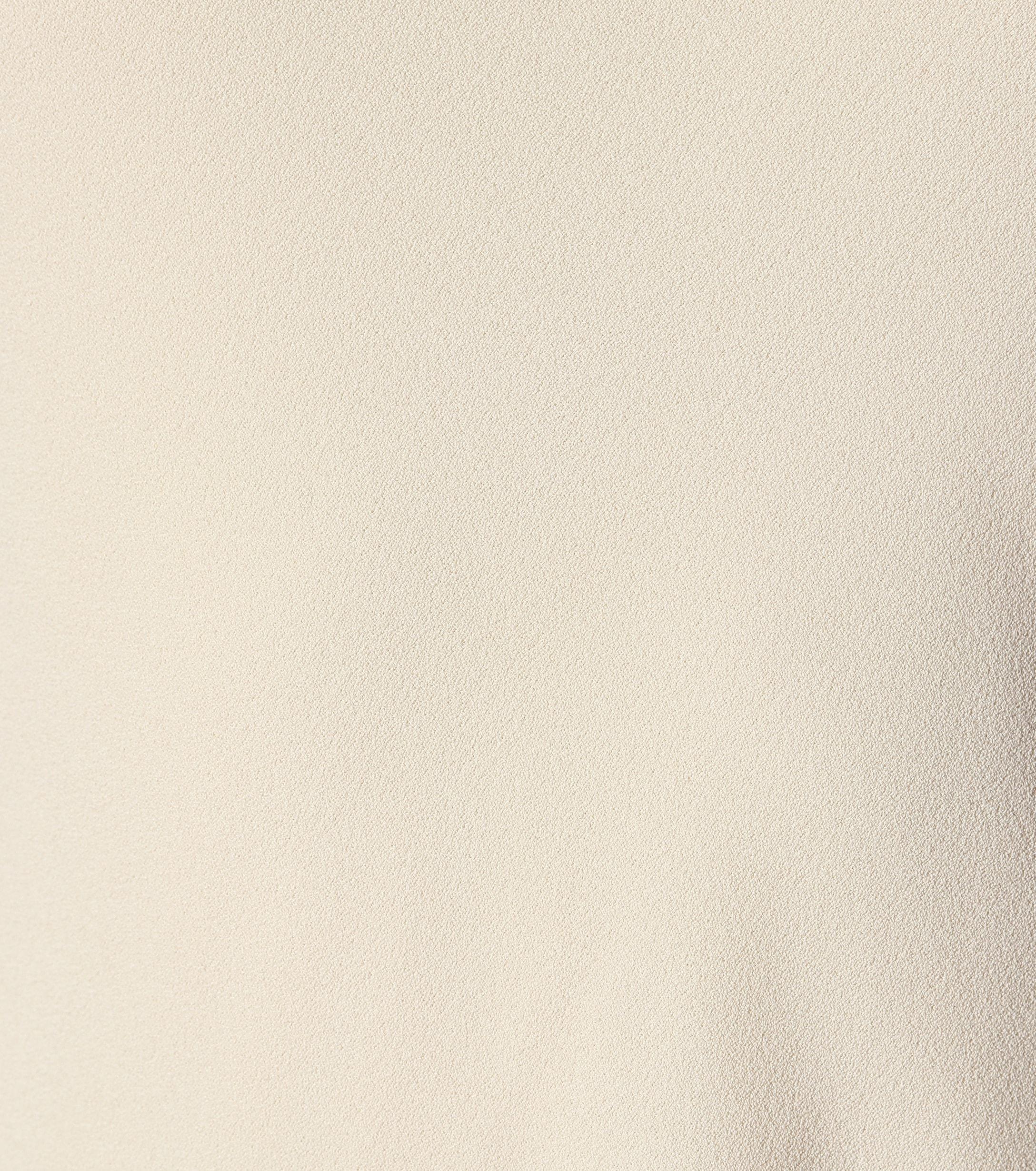 Vestido de crepé sin mangas Ebbins The Row de Tejido sintético de color Neutro