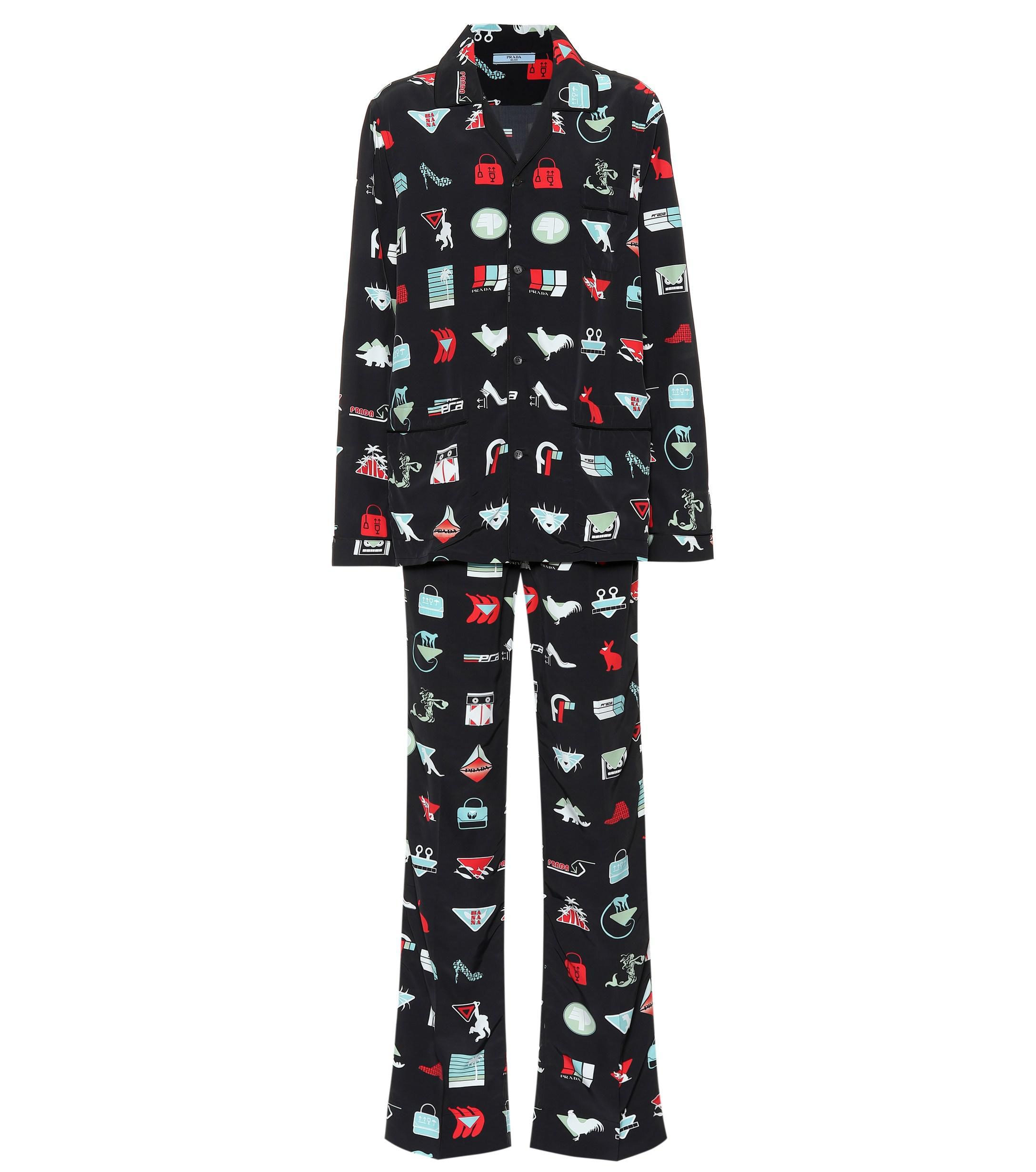 Nero Perla Brown Cotton Pajama Set