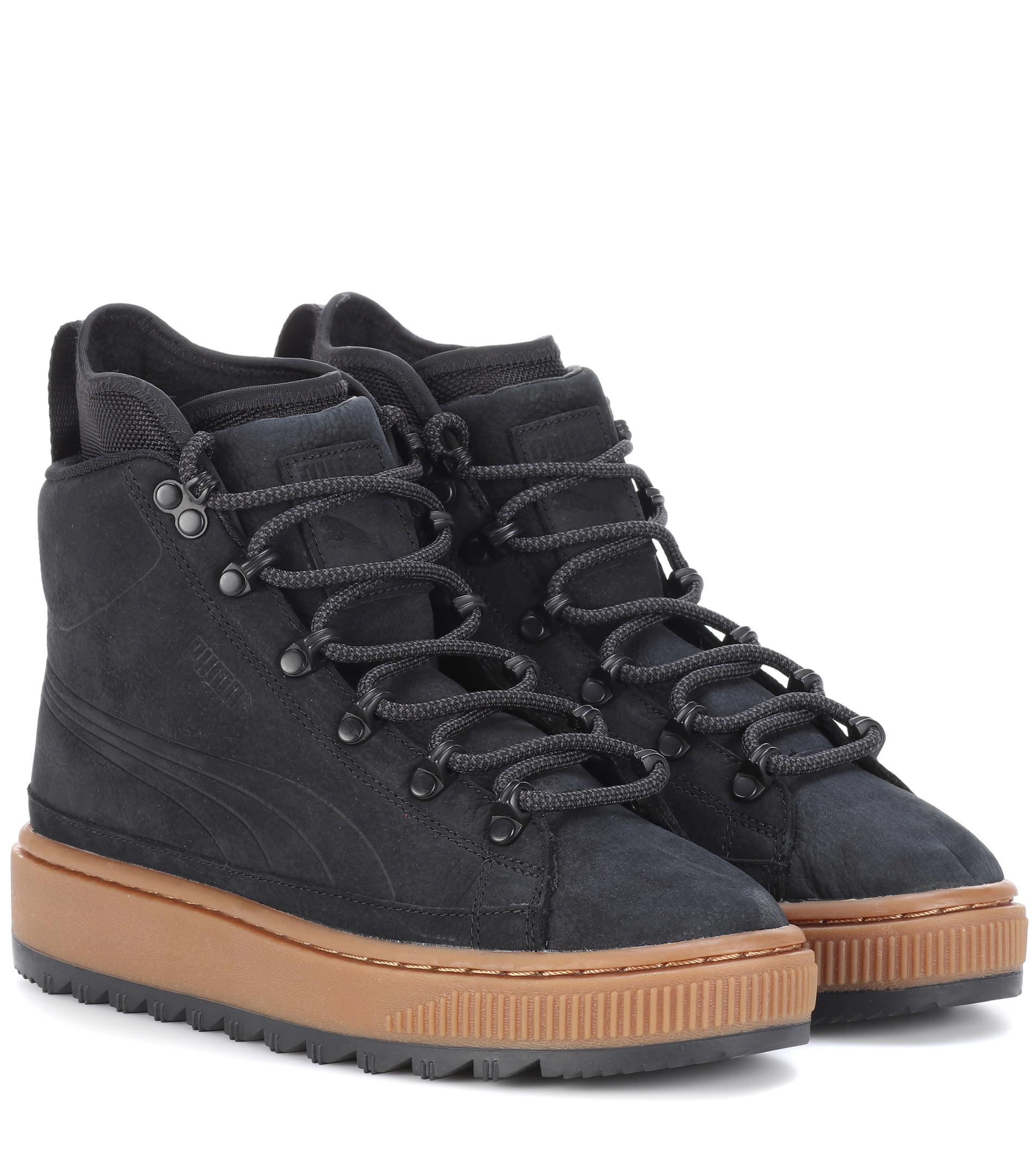 The Ren leather ankle boots Puma Xc9XMBx
