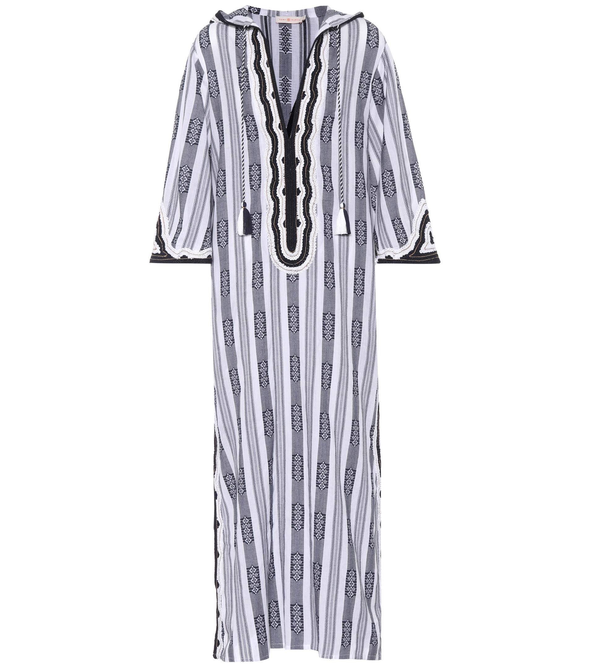 Corbin printed cotton caftan dress Tory Burch Huge Surprise Online For Sale Footlocker vTgt6Y