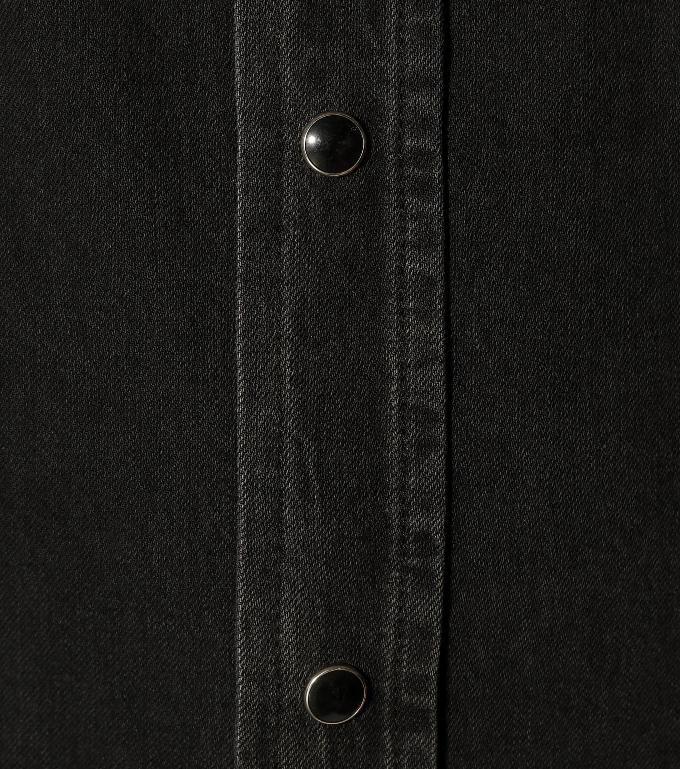 Balenciaga Denim Shirt in Black
