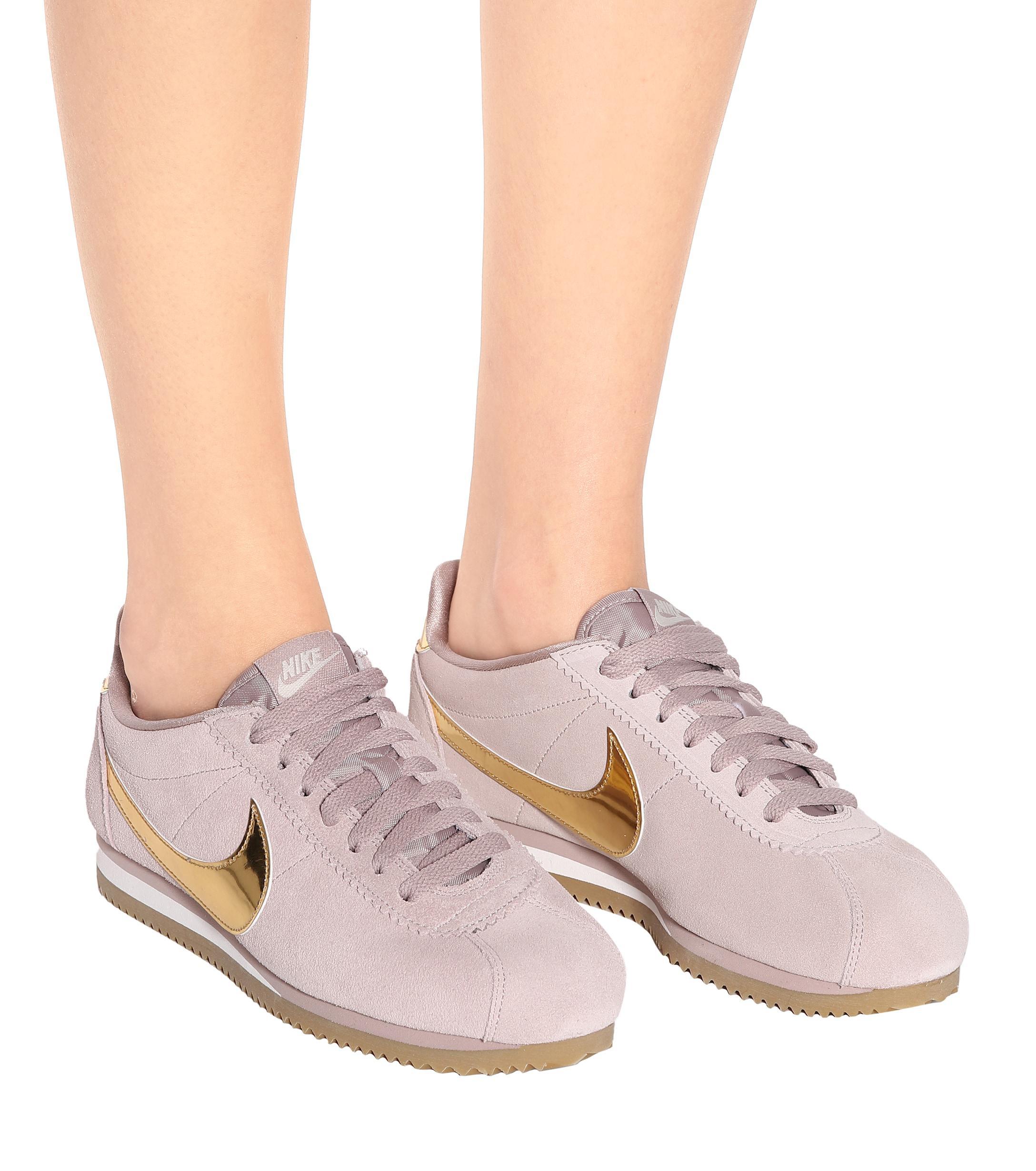 Zapatillas Classic Cortez Nike de color Rosa