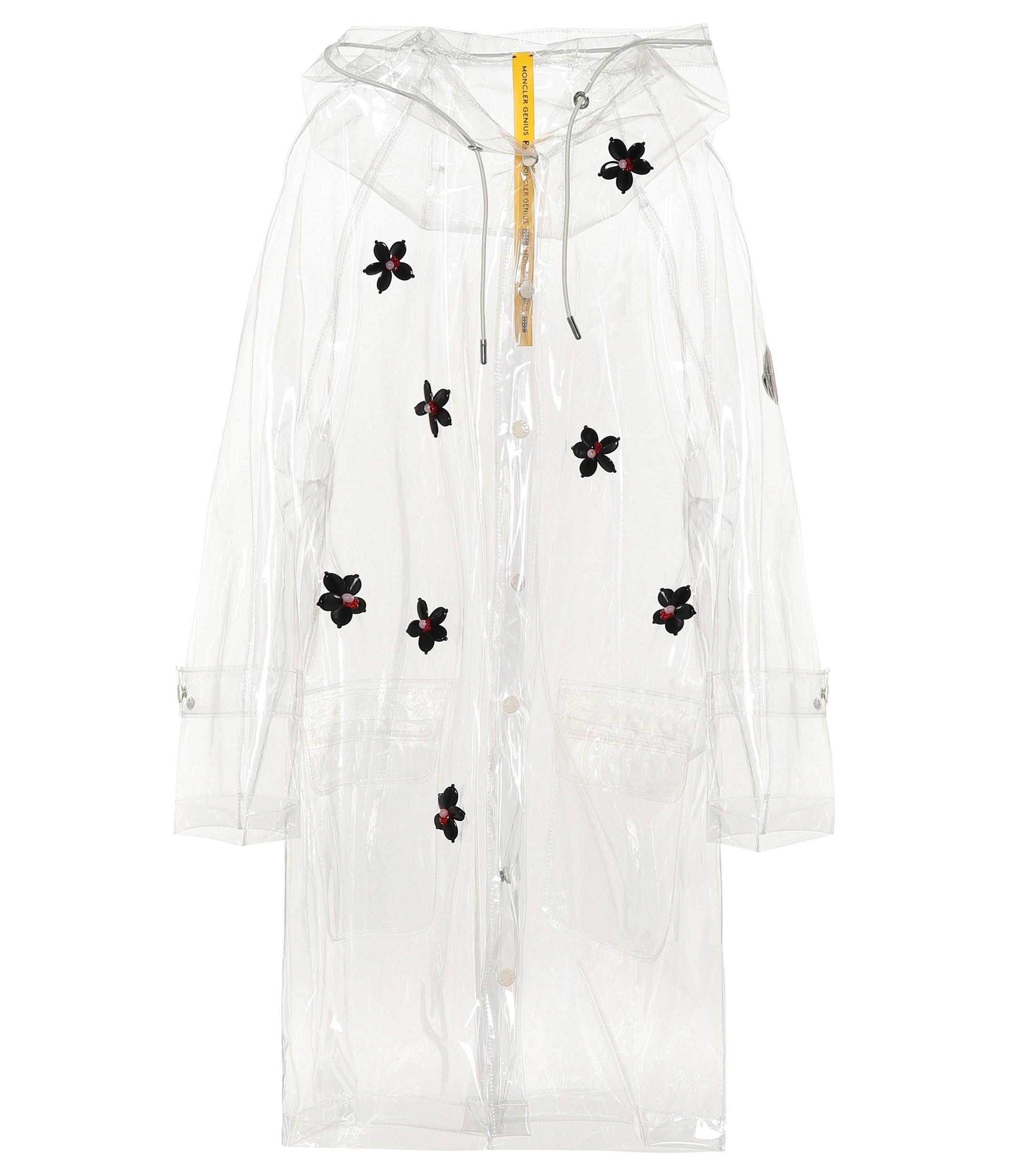 6cc6625ef Lyst - Moncler Genius 4 Moncler Simone Rocha Embellished Raincoat