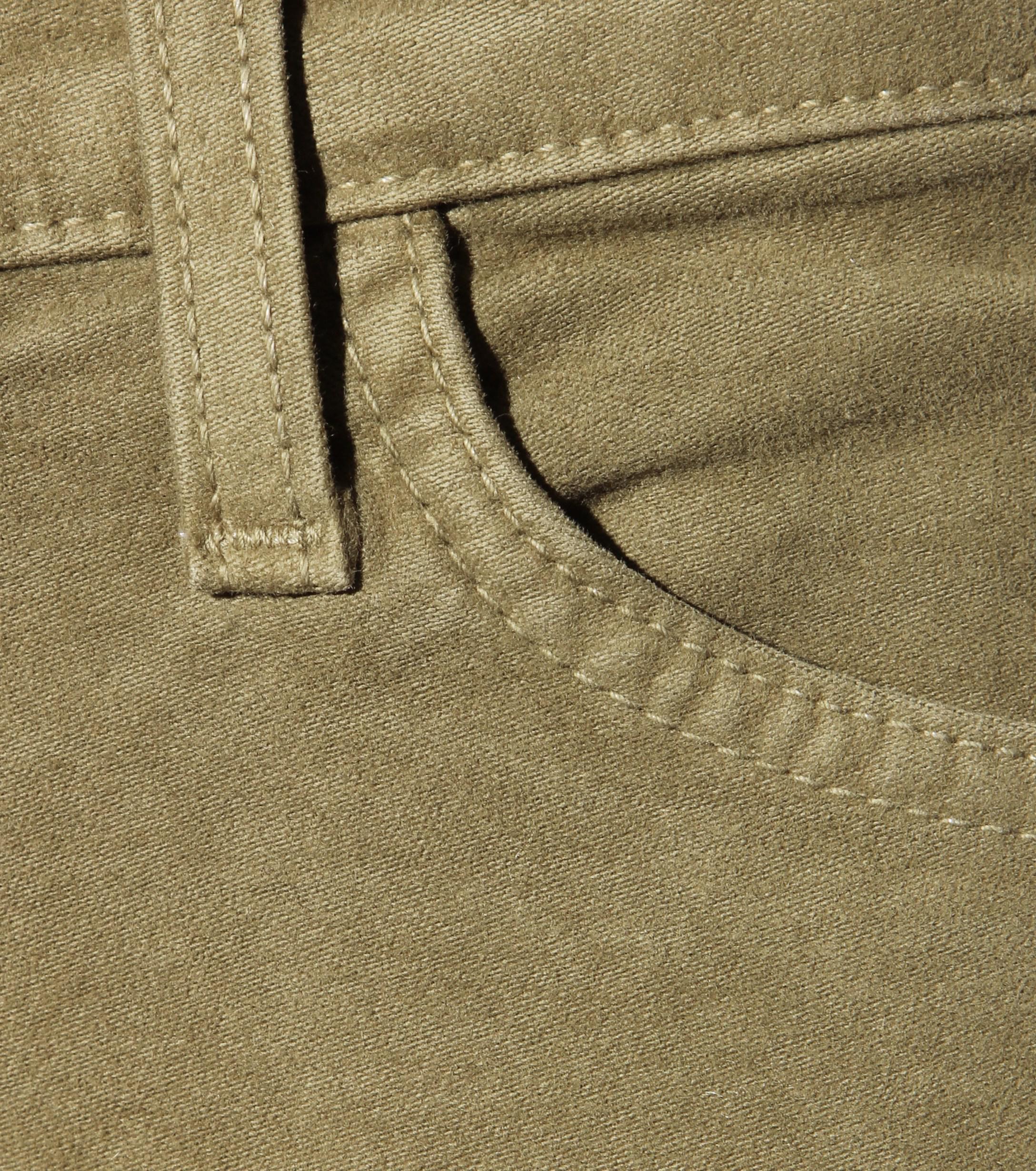 Current/Elliott Denim The Ankle Skinny Jeans in Green