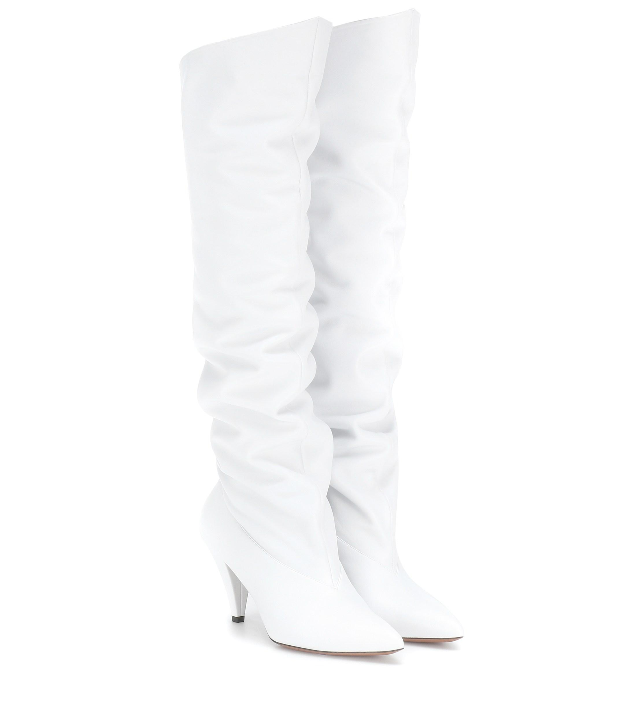 Givenchy Leather Knee-high Boots in