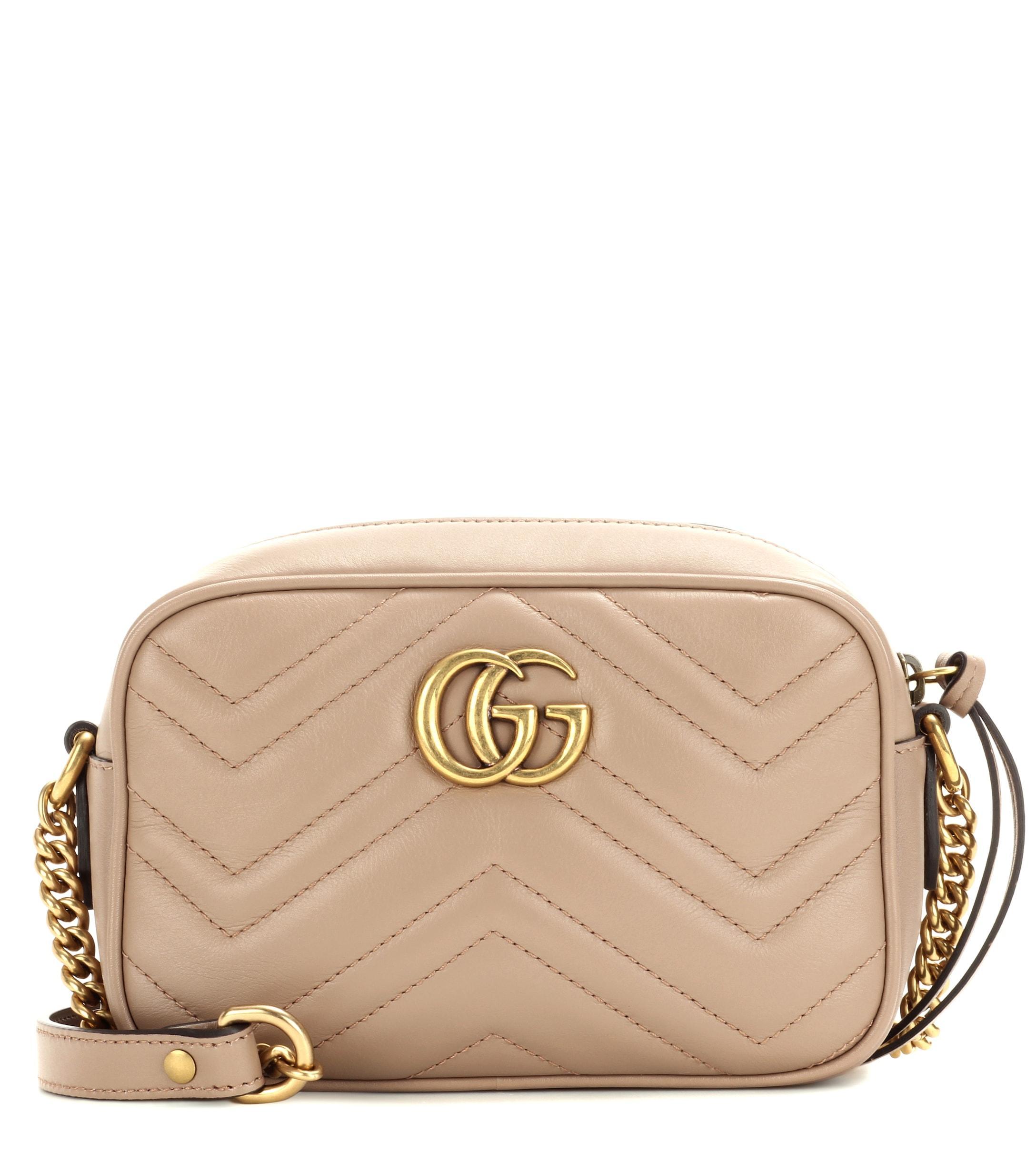 5a1358c3cc1 Gucci. Women s GG Marmont Mini Crossbody Bag