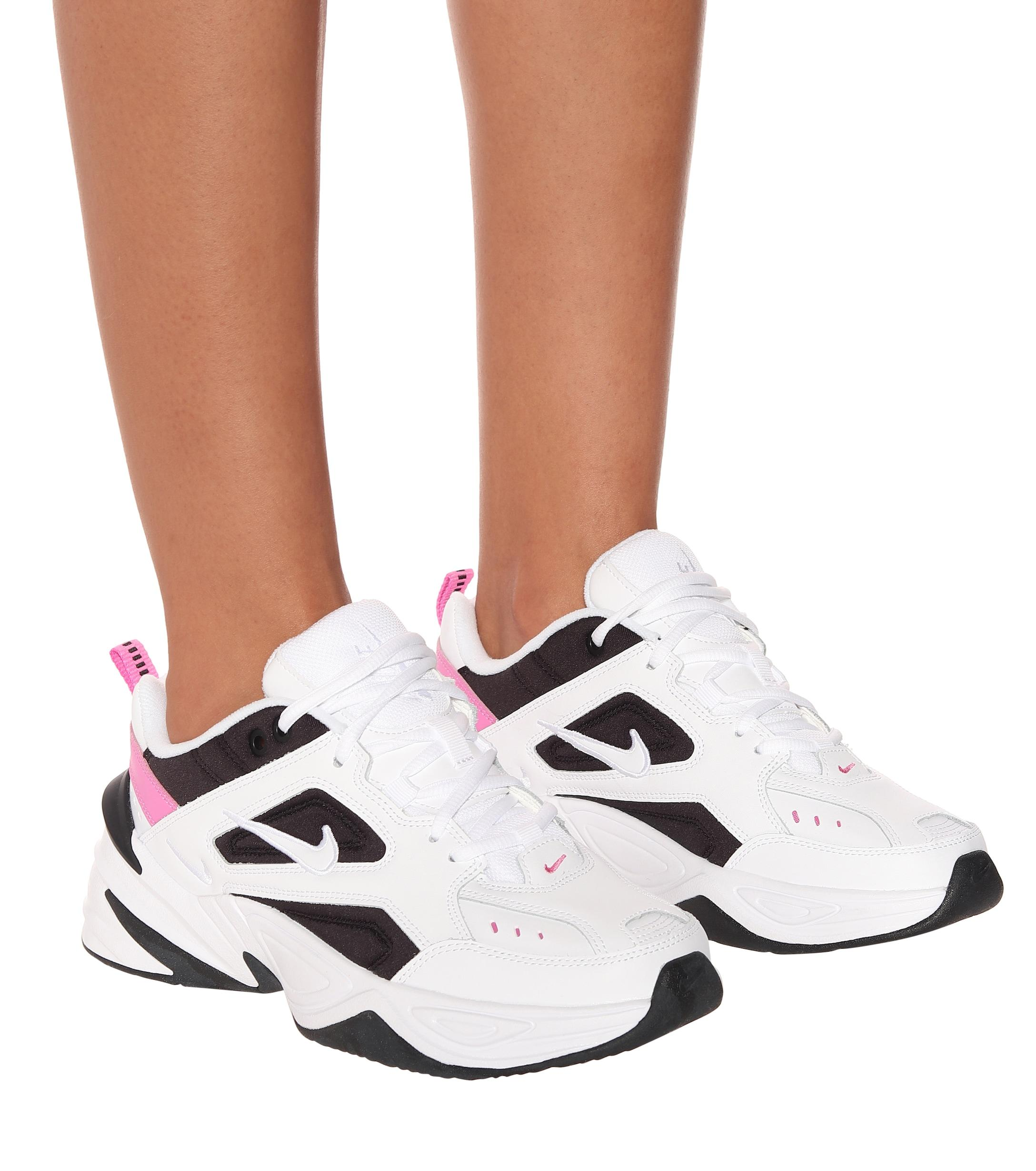 Nike Leather M2k Tekno W in White - Lyst