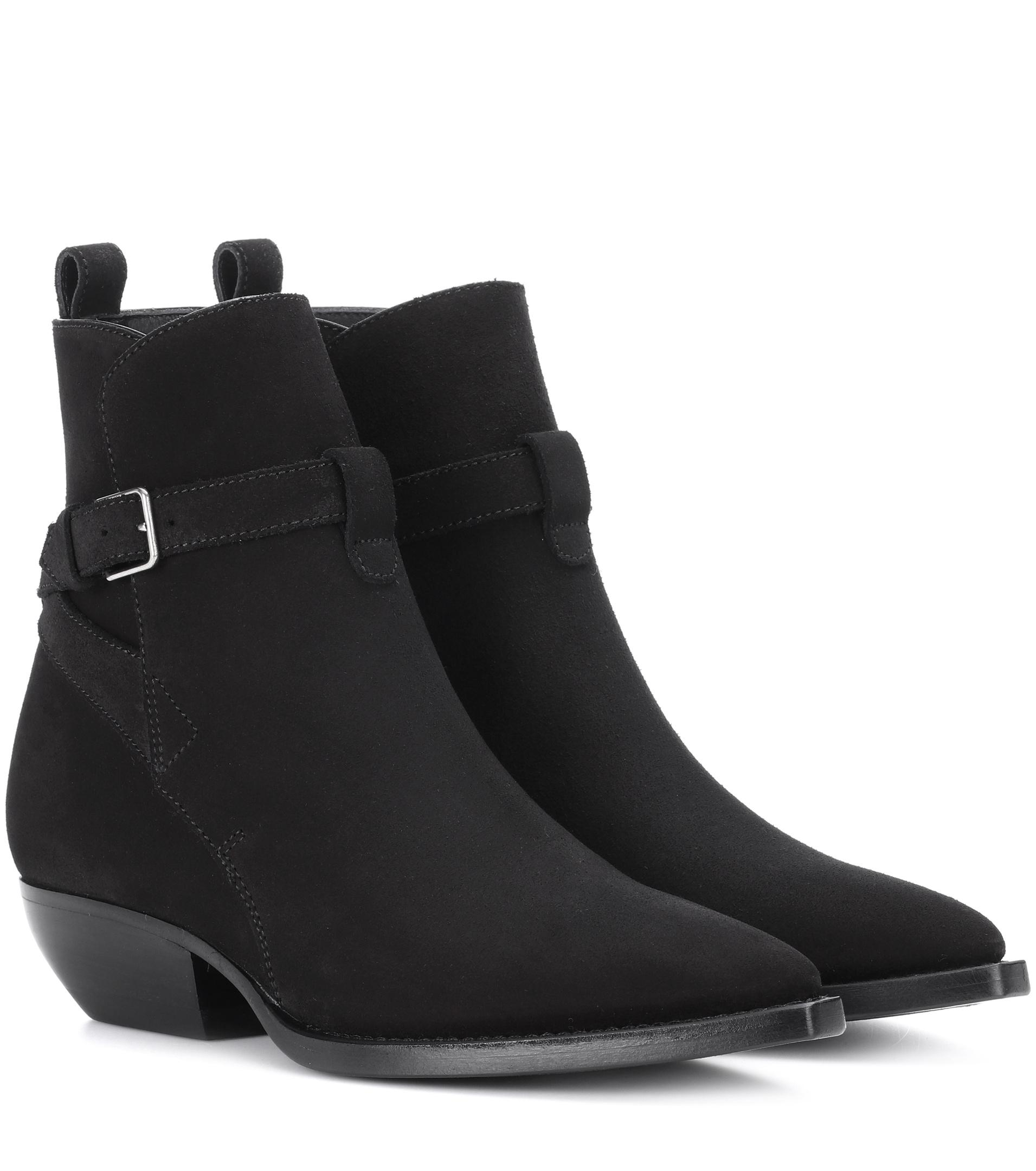 Theo 40 Suede Ankle Boots Saint Laurent ebFFw