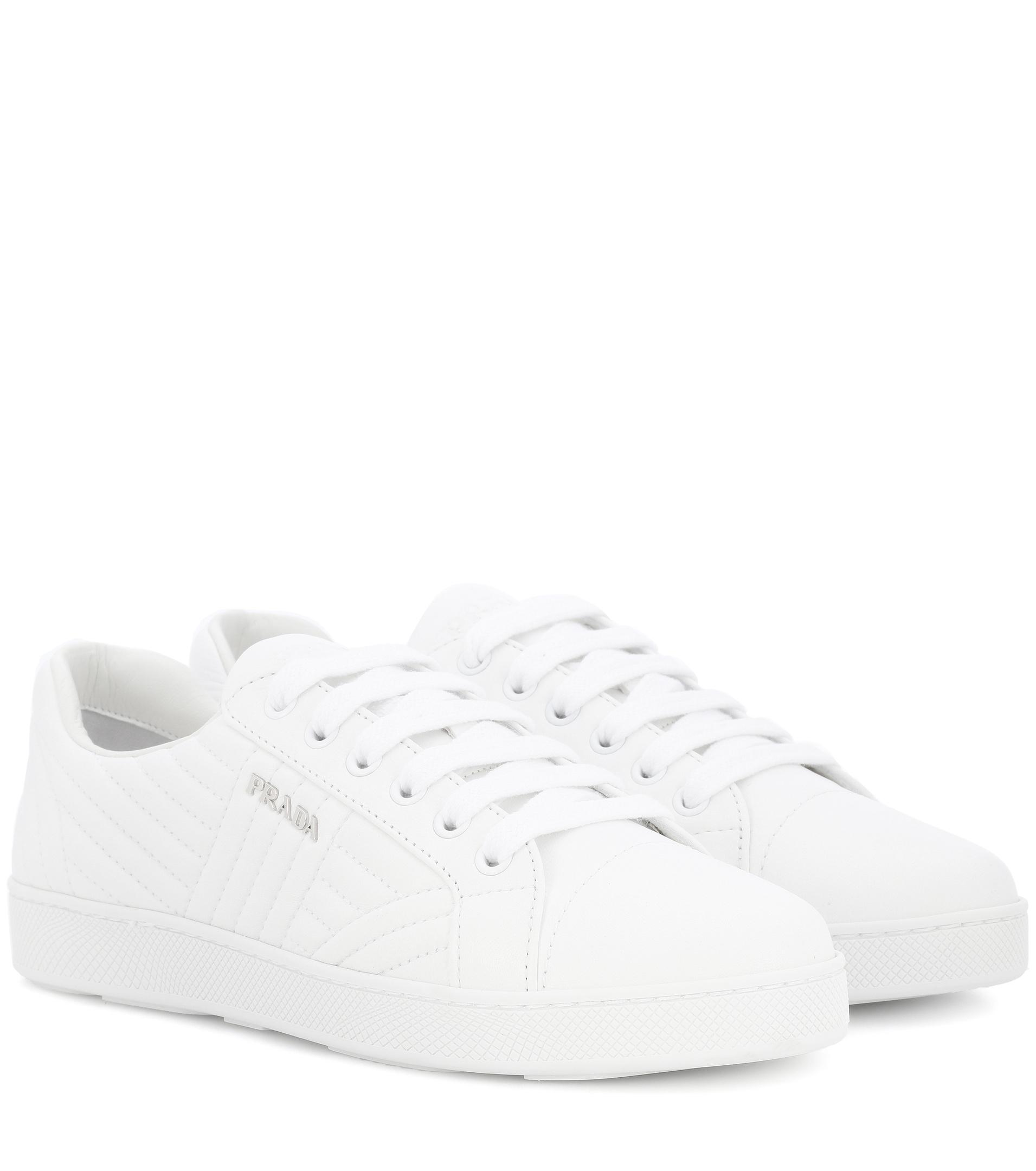 Prada White Westford Sneakers dNU3pu