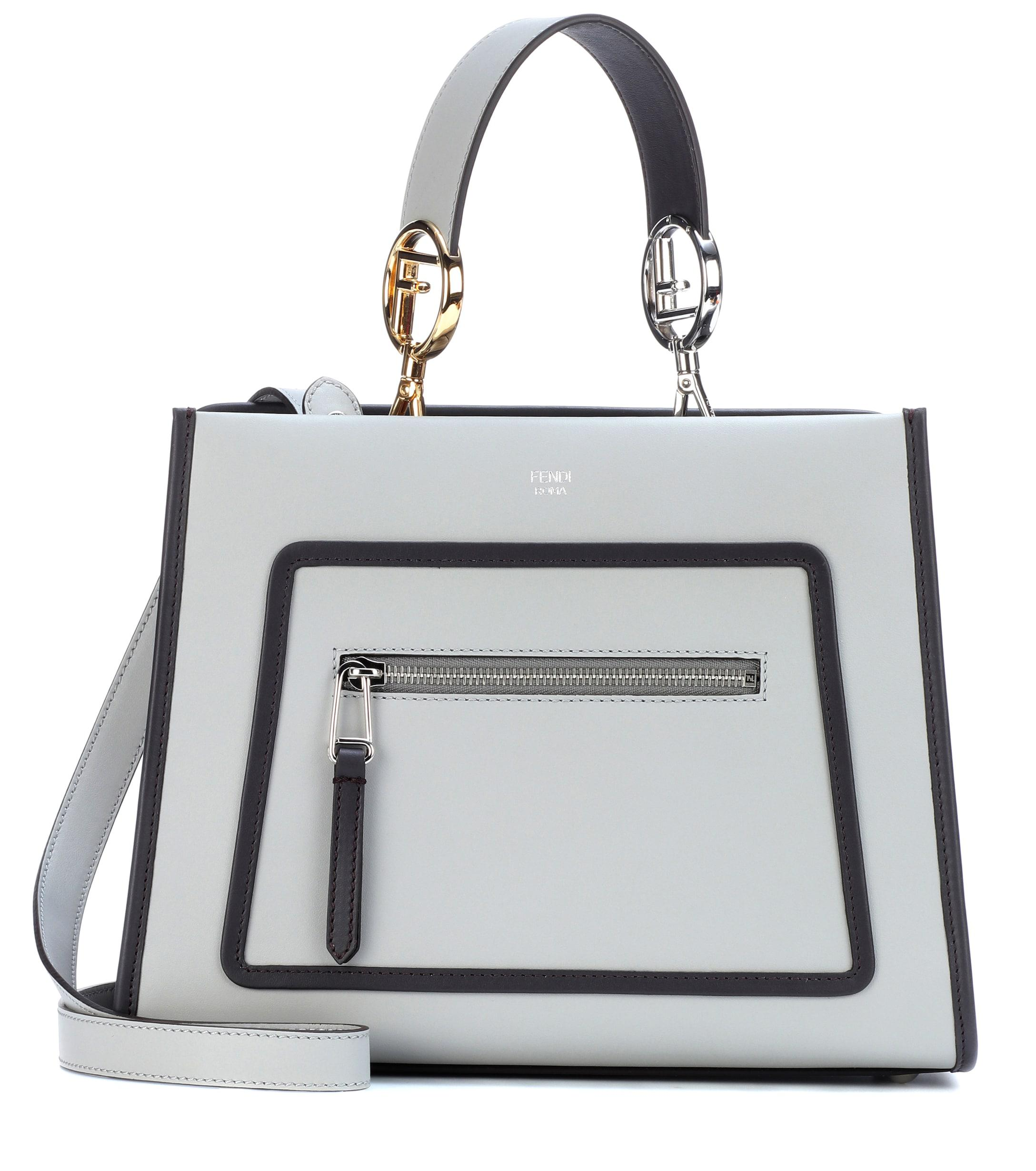 333bd761add Fendi - Multicolor Runaway Small Leather Shoulder Bag - Lyst. View  fullscreen