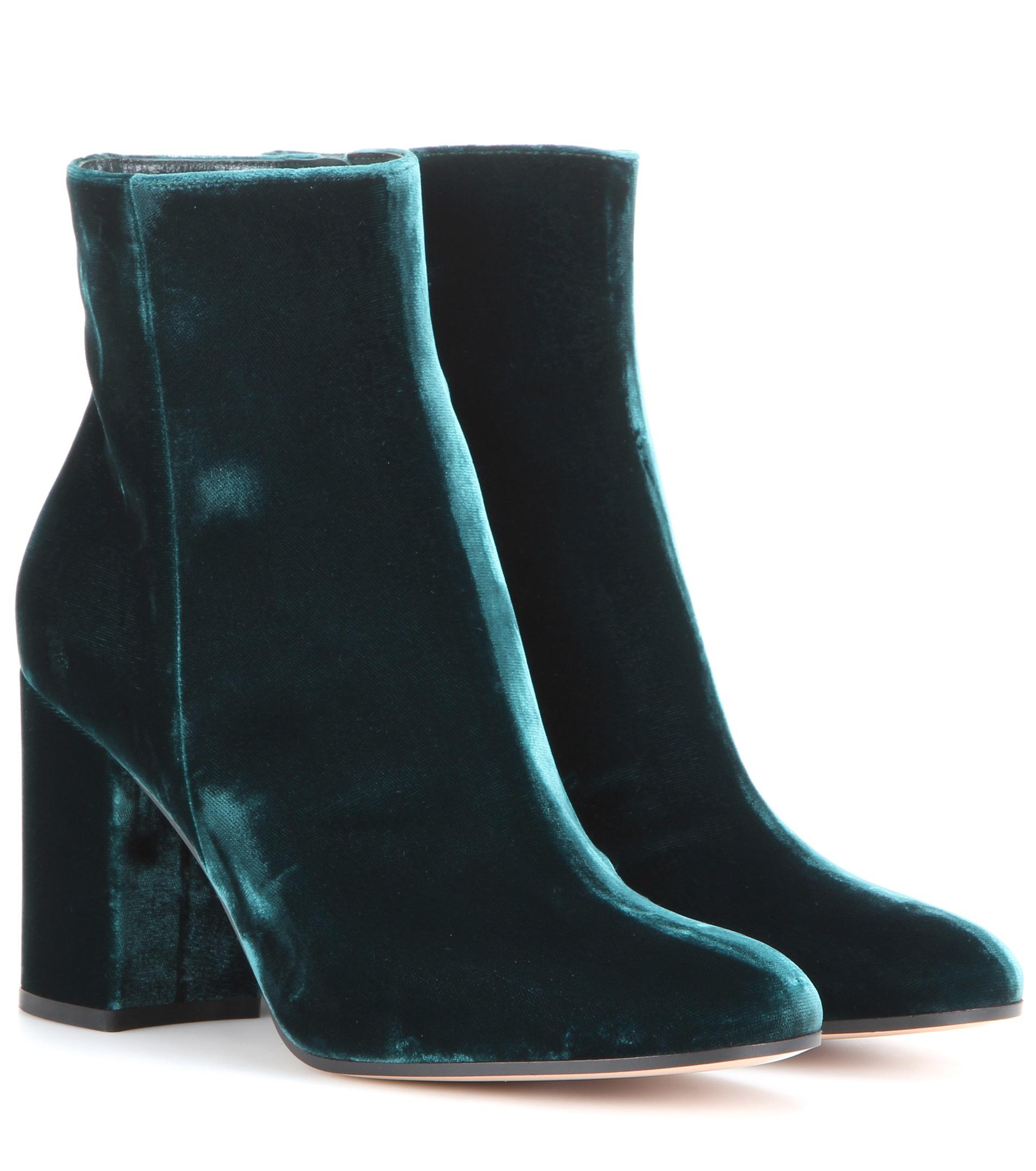Low Cost Sneakernews For Sale Ankle Boots Rolling 85 velvet purple Gianvito Rossi Designer rwDFC