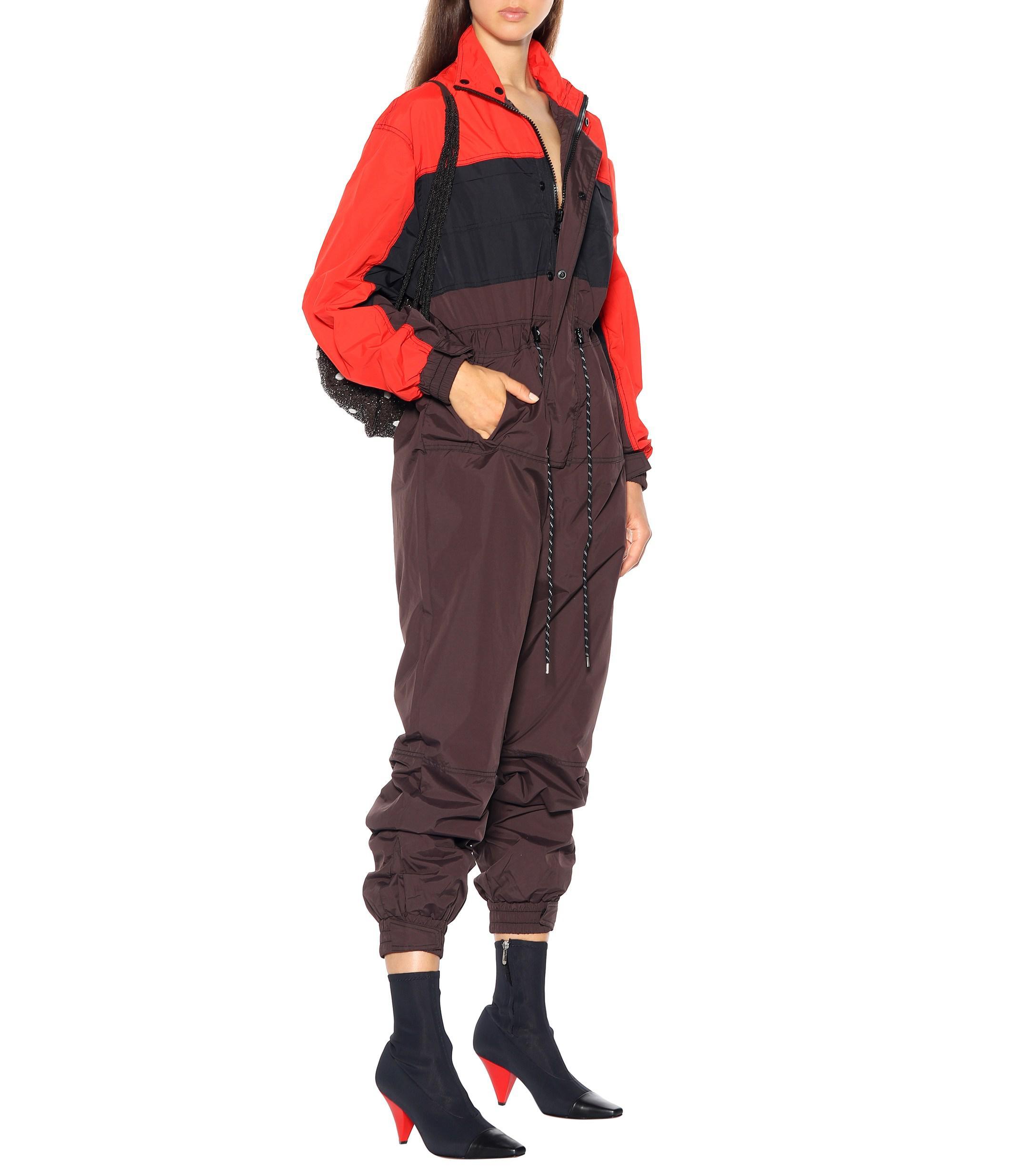bfc09430d761 Ganni Faust Jumpsuit in Black - Lyst