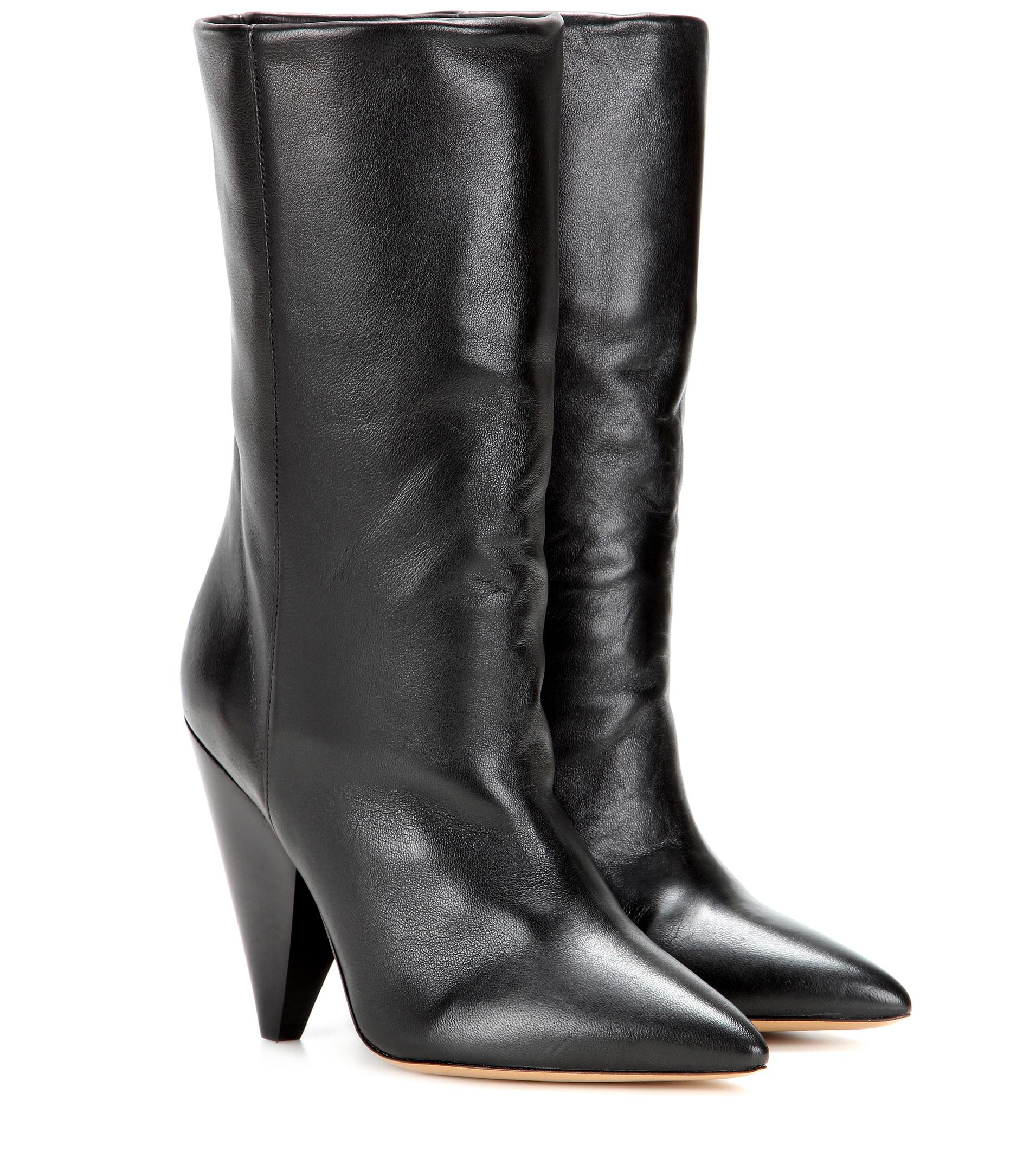 Isabel Marant Lexing leather boots VKP7DwBpK