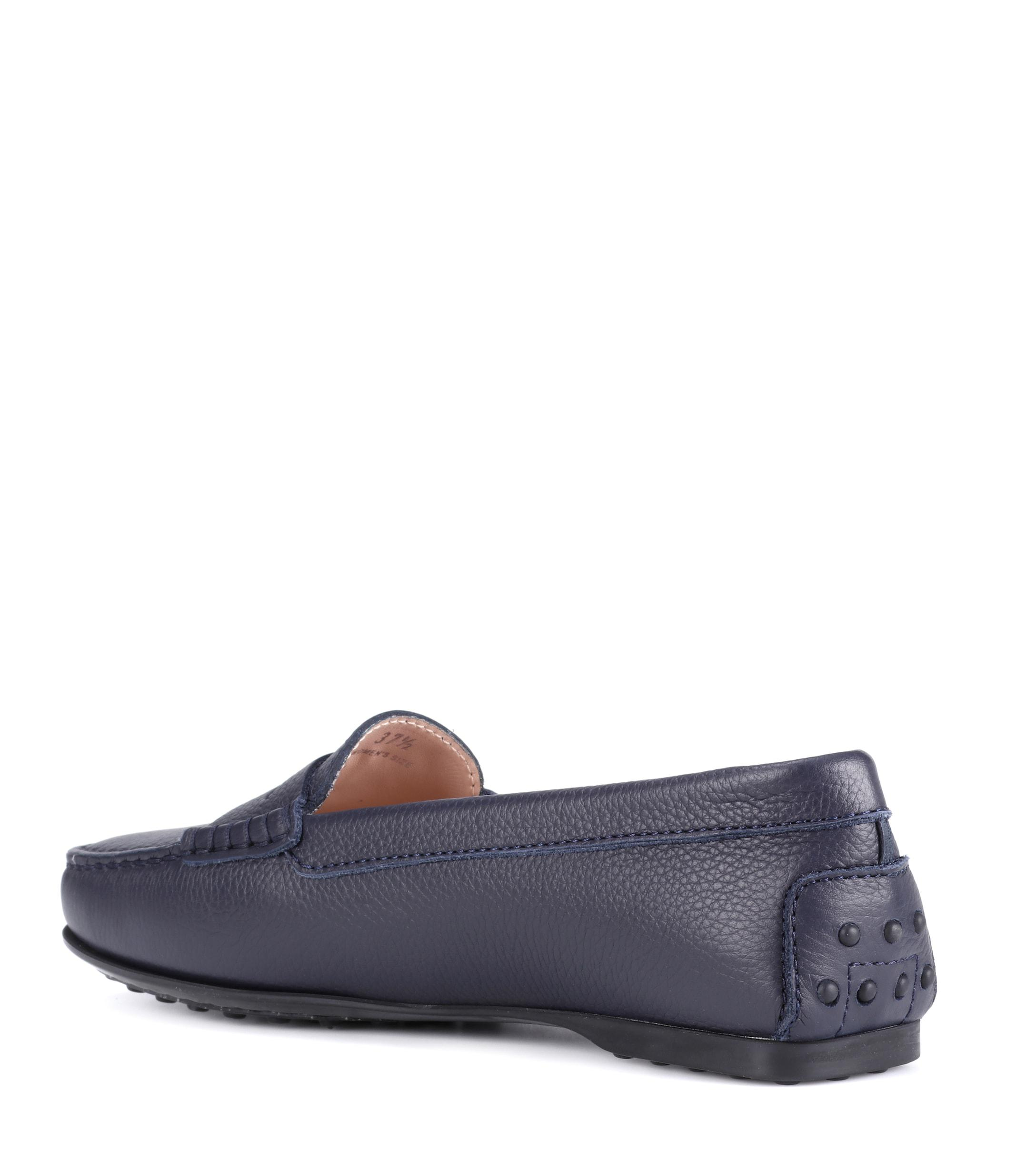 Mocasines City Gommino de cuero Tod's de color Azul