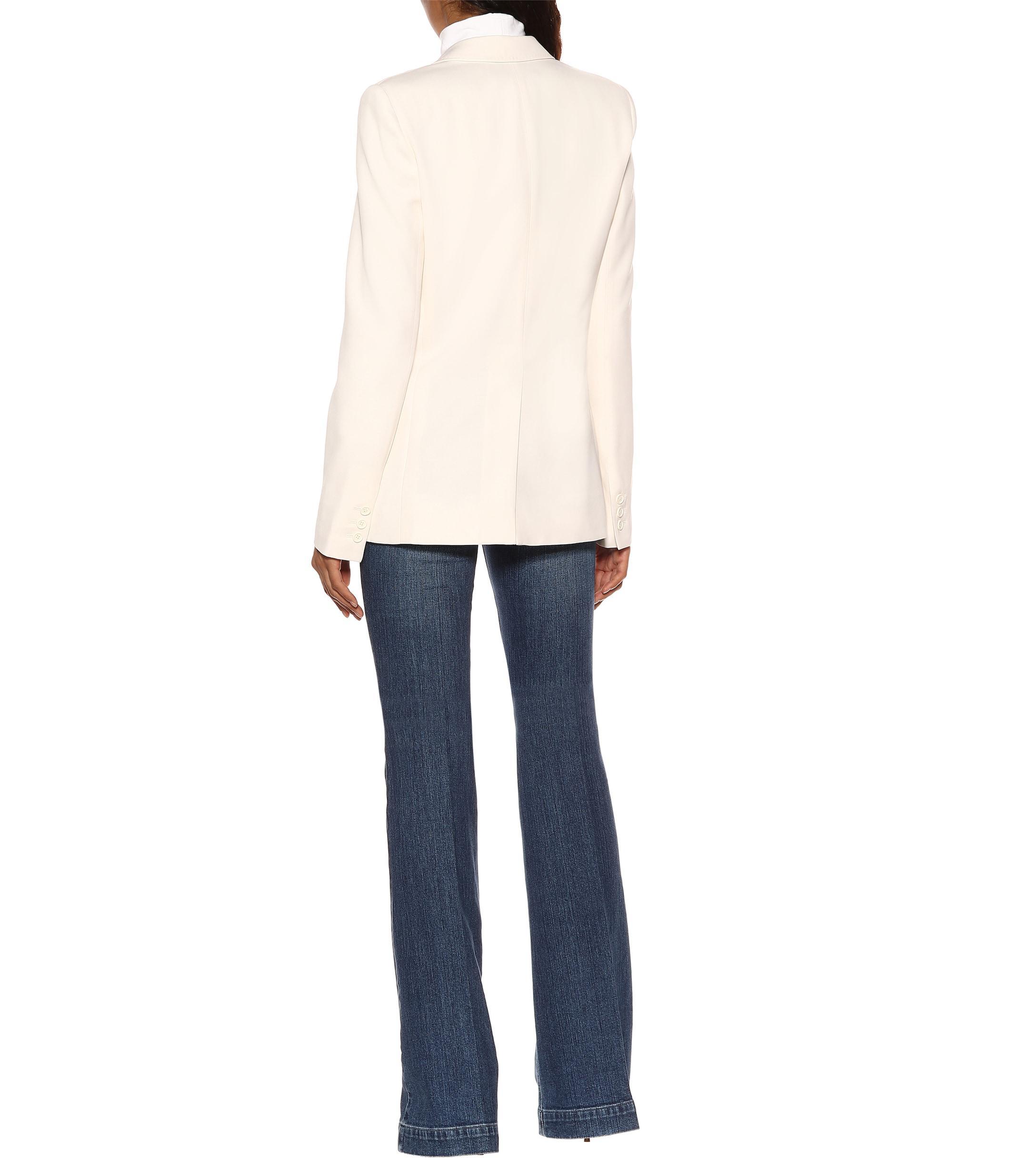 Blazer de lana Stella McCartney de color Blanco
