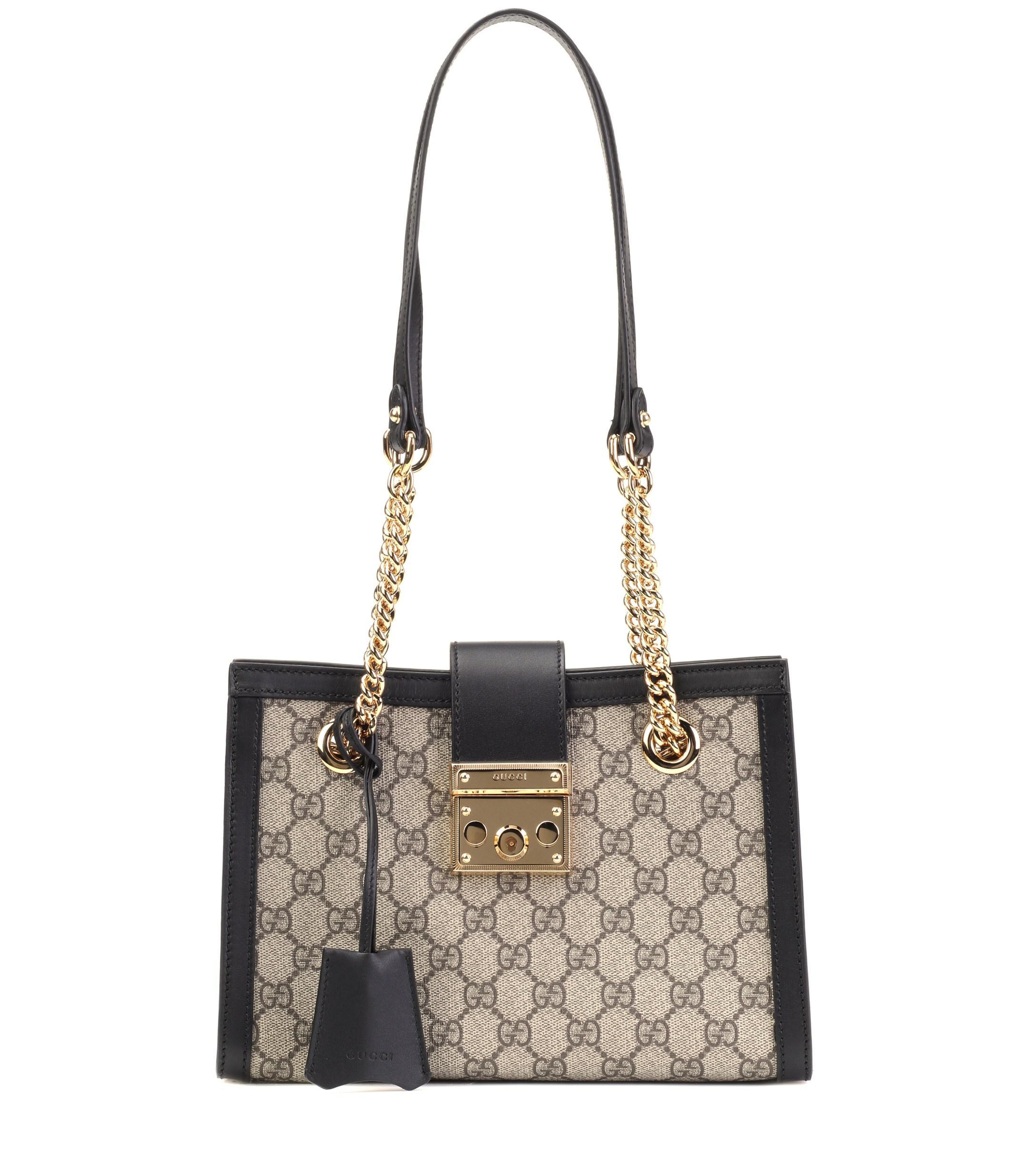 d7a4bb80965e Gucci. Women's Padlock GG Small Shoulder Bag