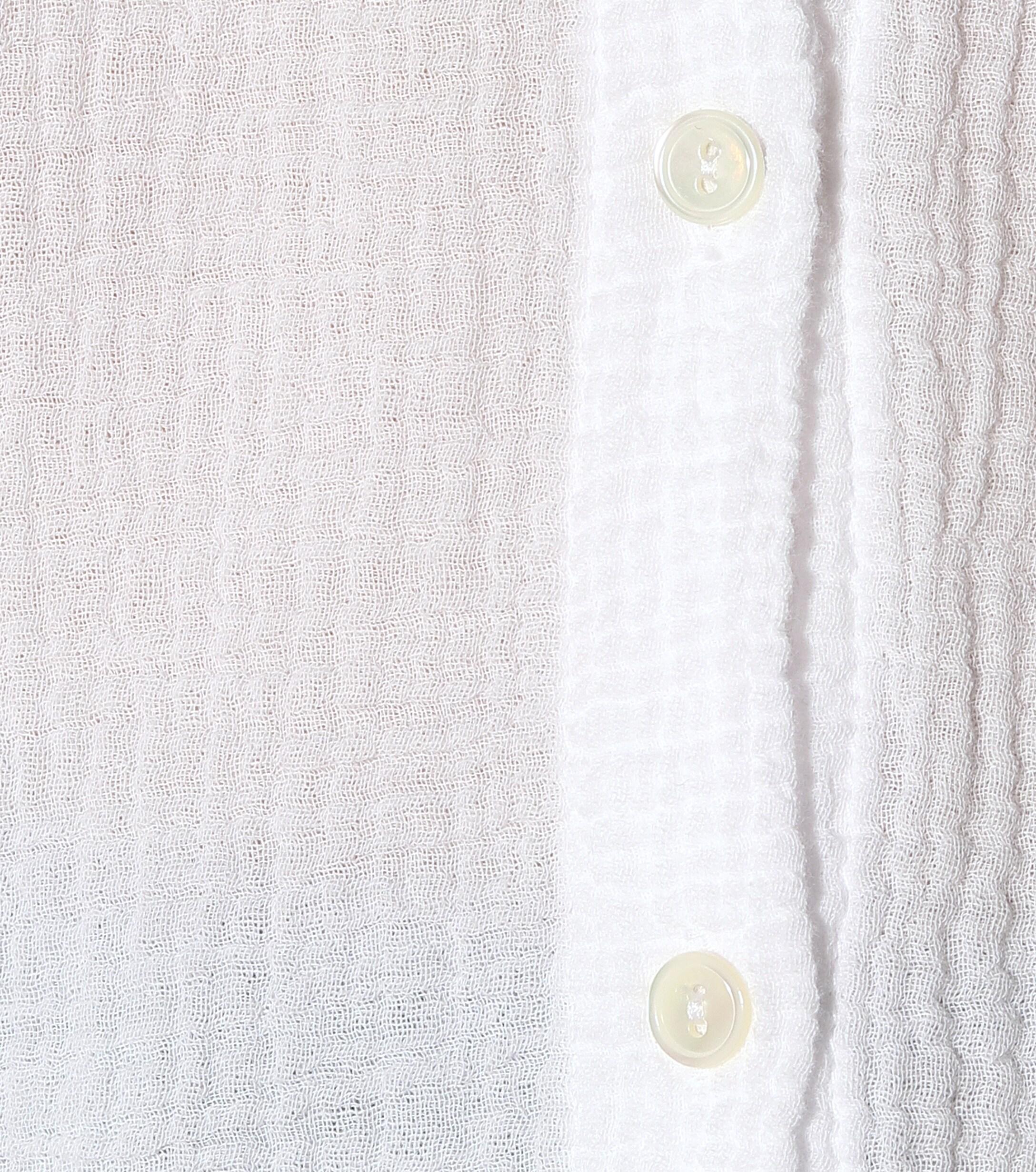Chemise Paulina en coton Velours Velvet en coloris Blanc