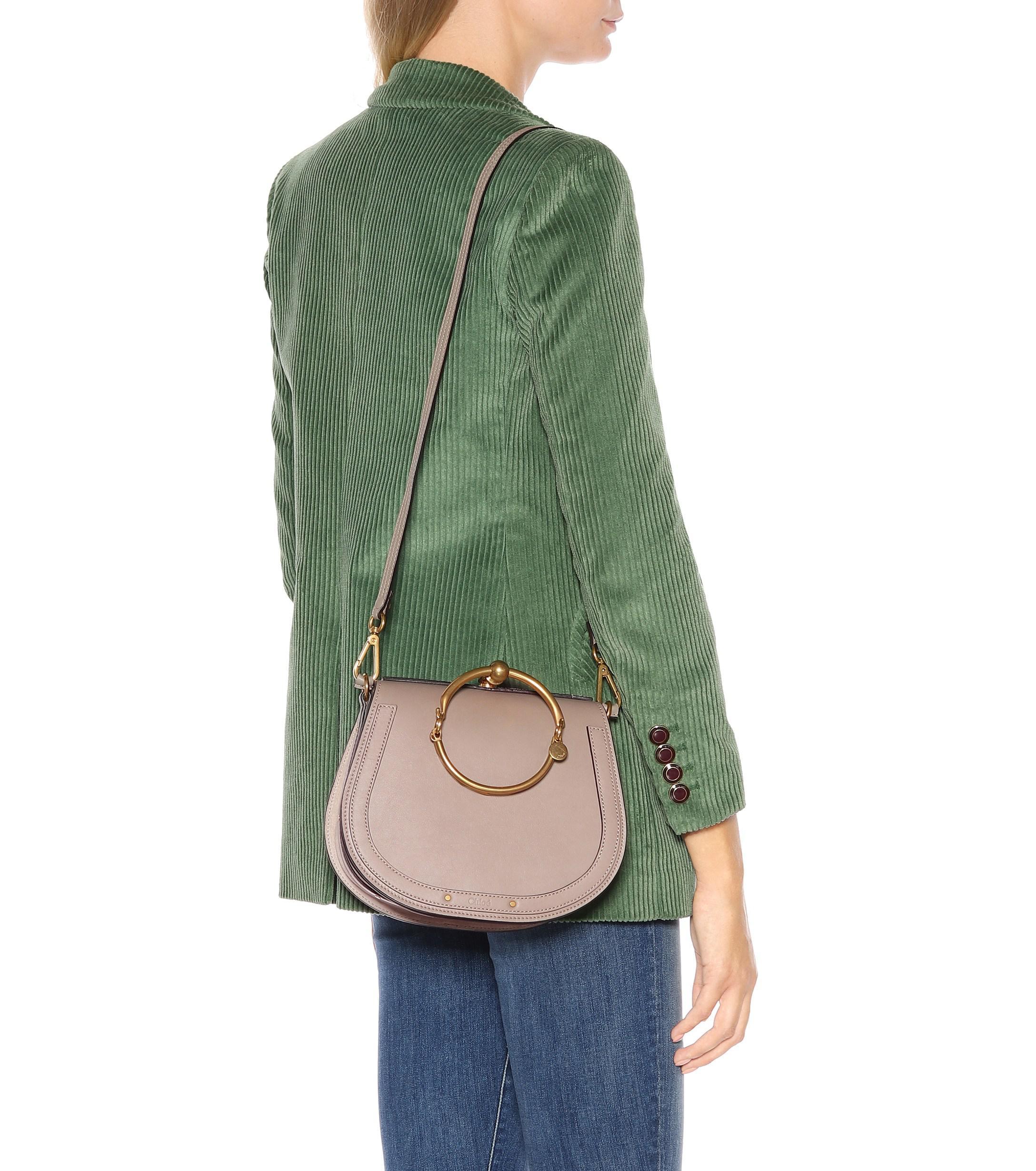 2a5f5d1bc352 Chloé - Multicolor Medium Nile Leather Bracelet Bag - Lyst. View fullscreen