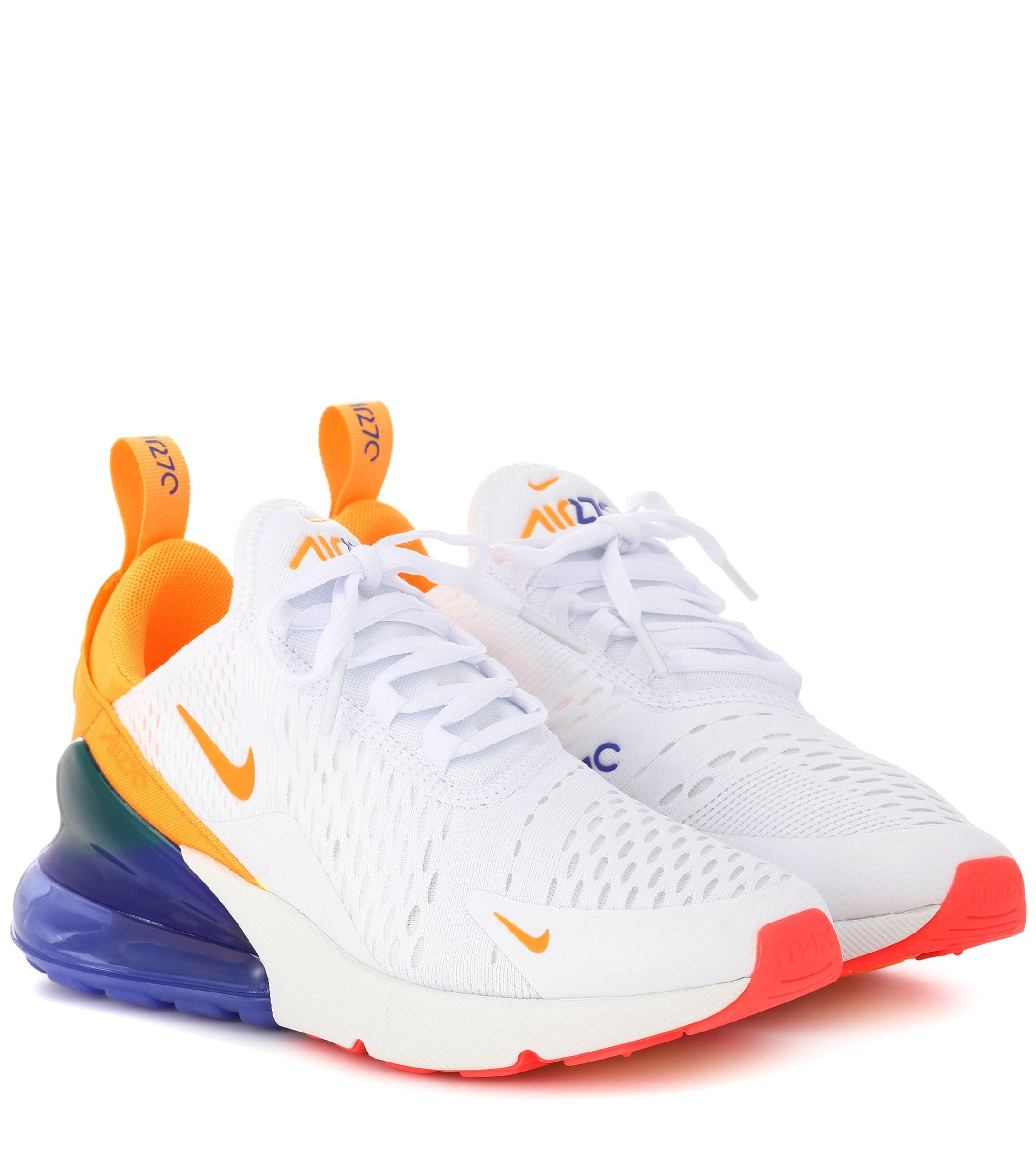 the latest 03d01 78e7e Nike White Air Max 270 Sneakers