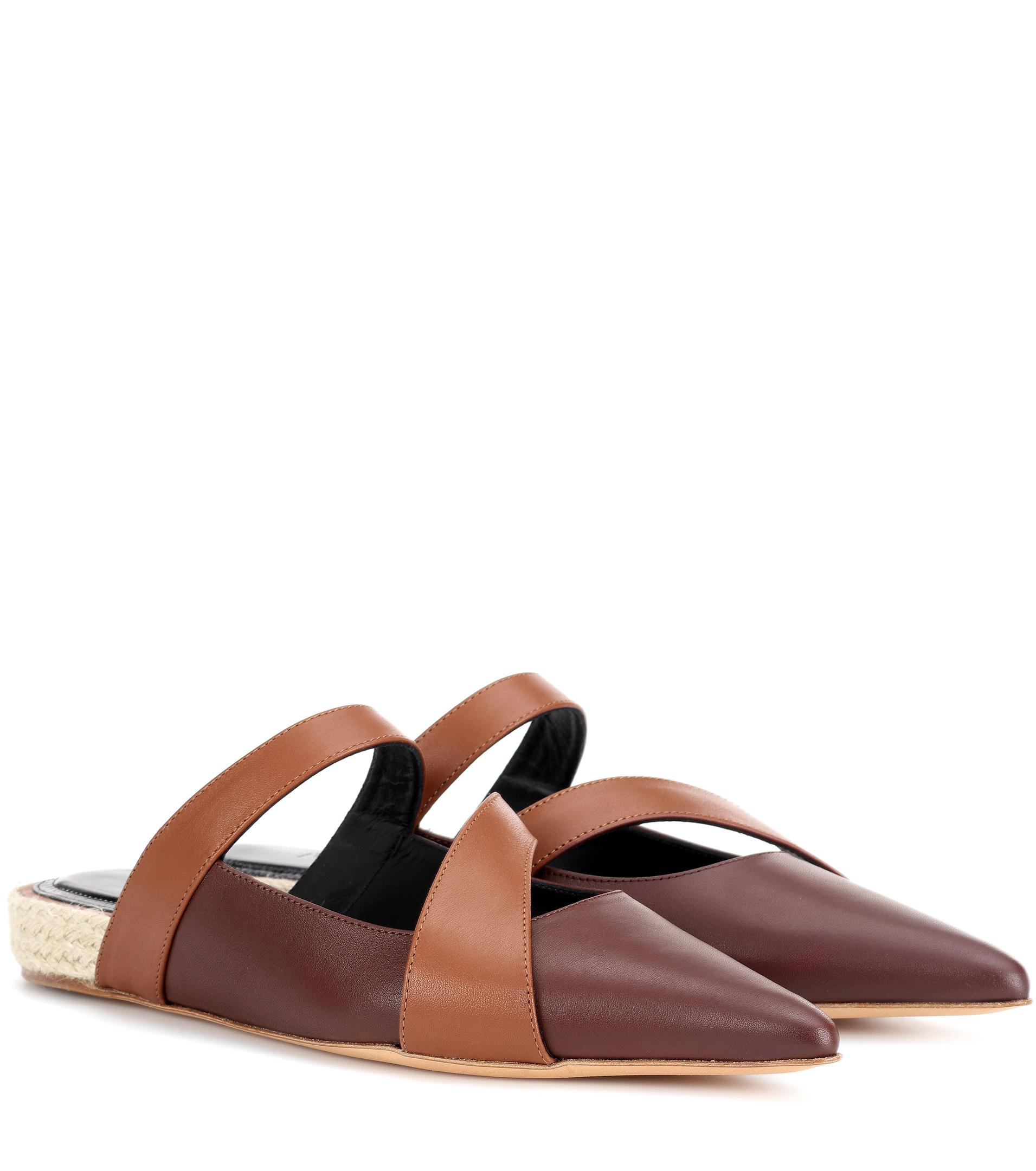 JW Anderson Leather slipper cheap online shop outlet top quality YgaJFu