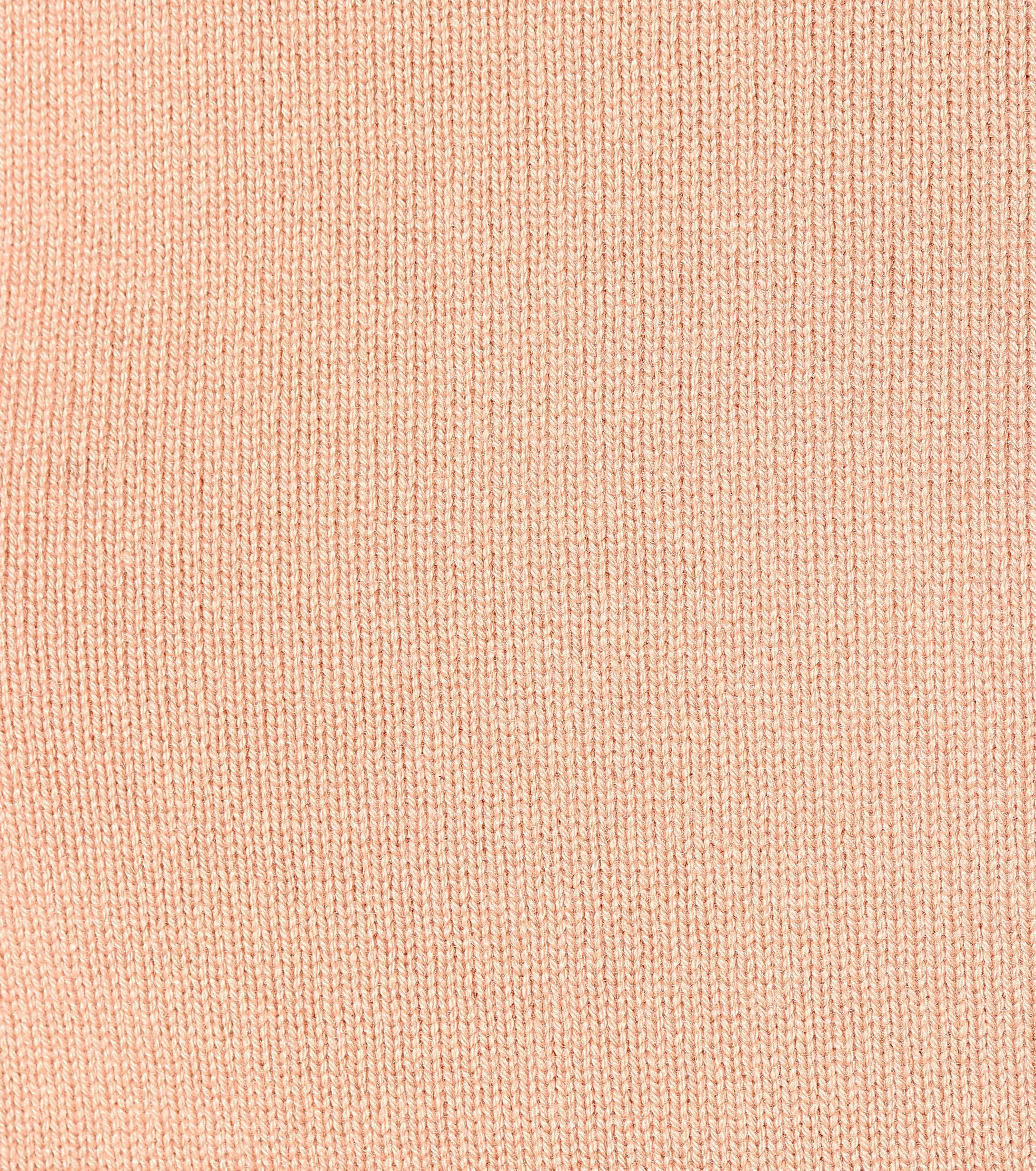 Jersey de cachemir de cuello alto Chloé de color Rosa