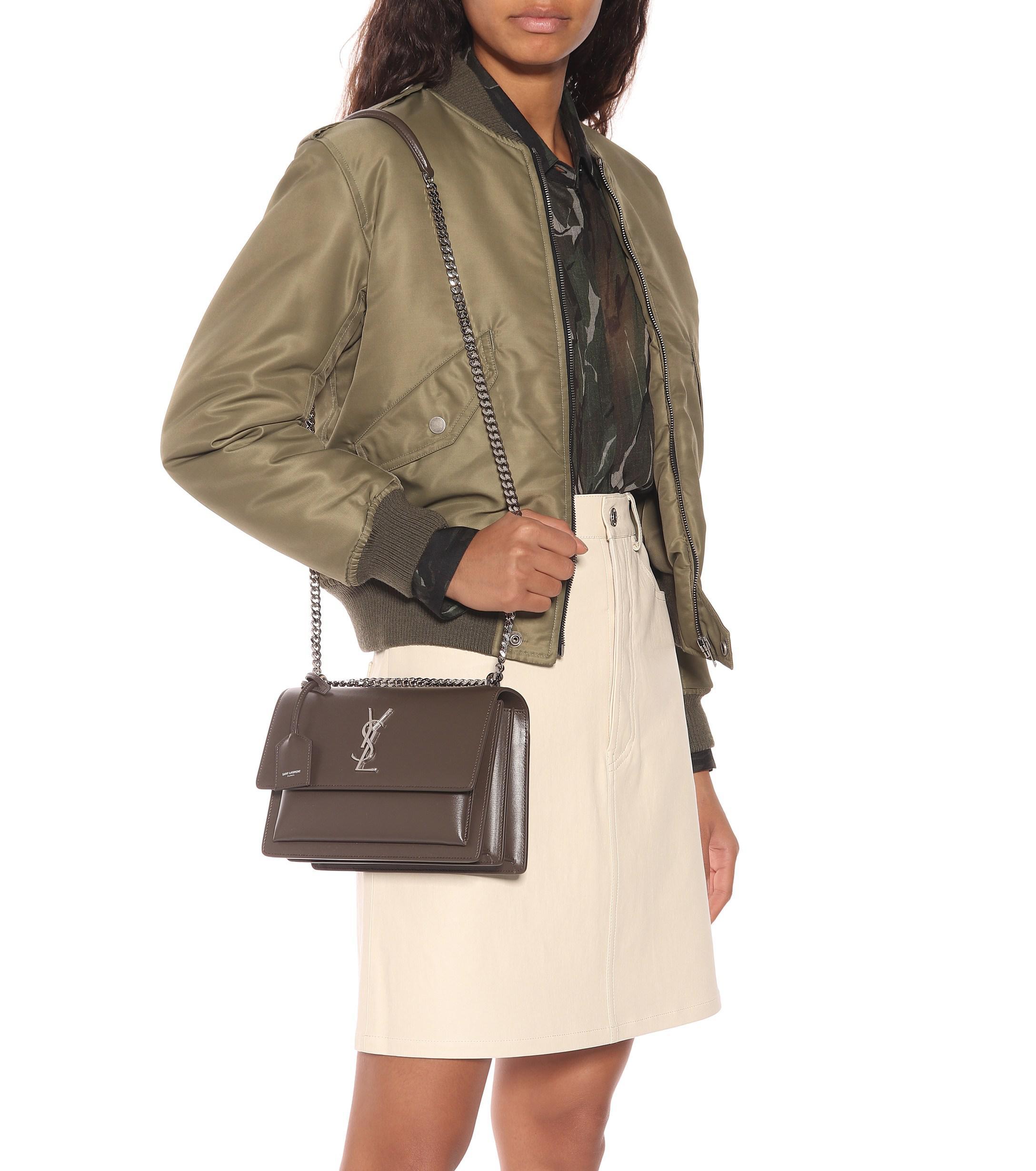 fcc6e151a3 Saint Laurent - Multicolor Medium Sunset Leather Shoulder Bag - Lyst. View  fullscreen