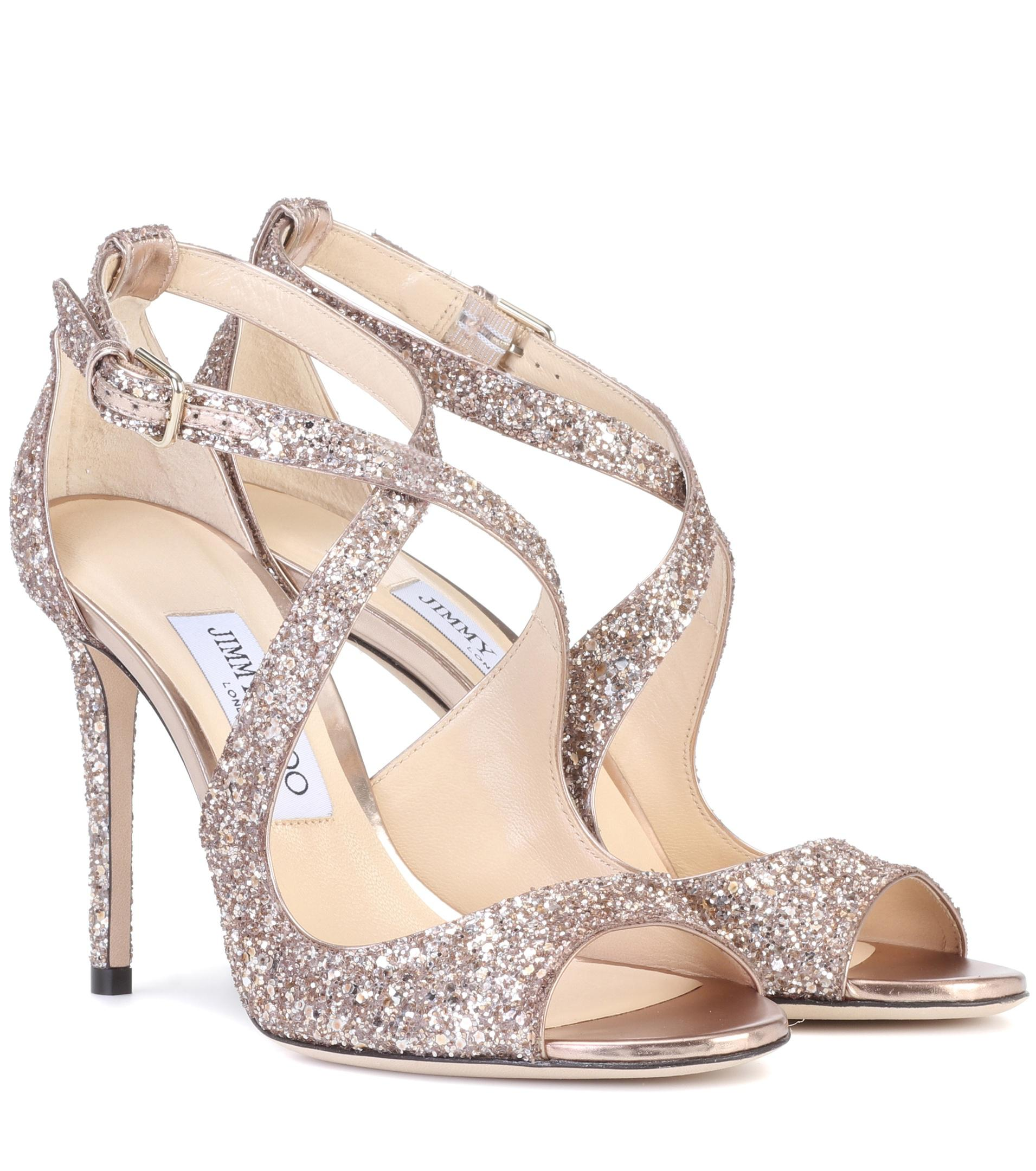 Glittered Emily sandal Jimmy Choo London clbS6T