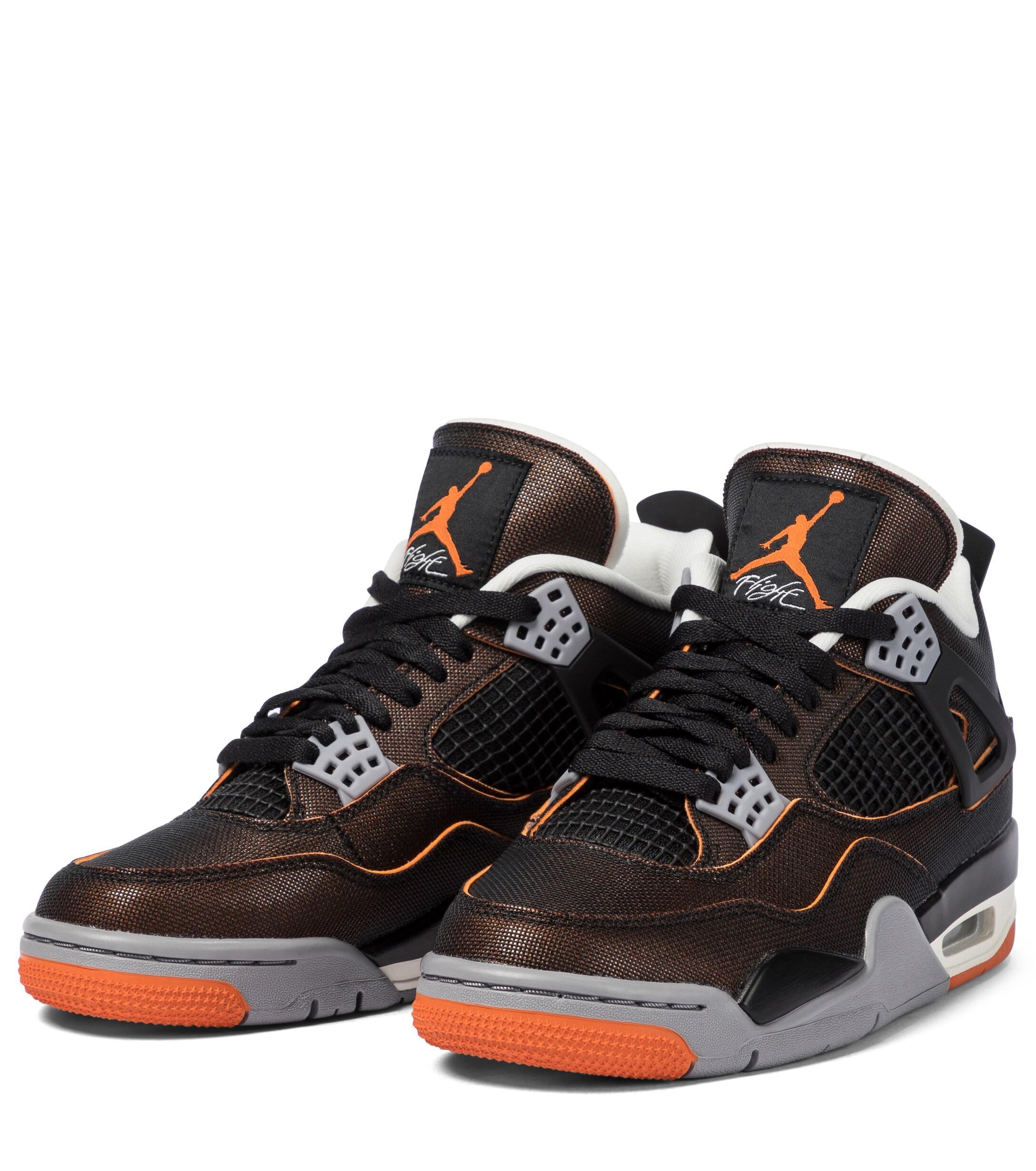 Baskets Air Jordan 4 Retro SE Nike en coloris Noir - Lyst